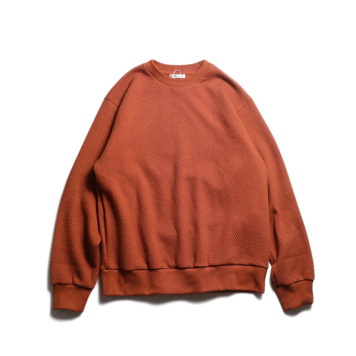 UNIVERSAL PRODUCTS / MIDDLE WAFFLE CREW (Brown)