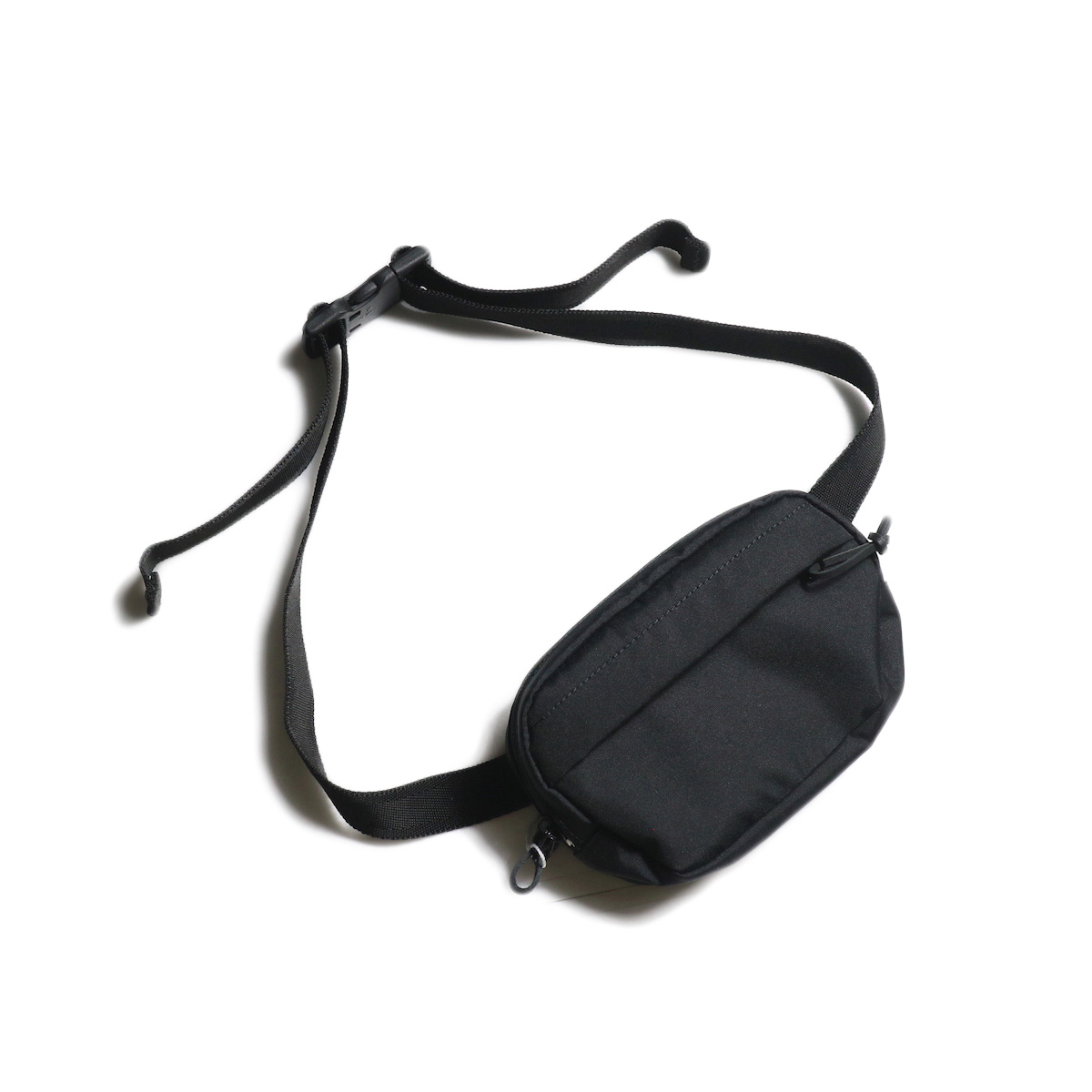 UNIVERSAL PRODUCTS / CORDURA SMALL WAIST BAG (Black)
