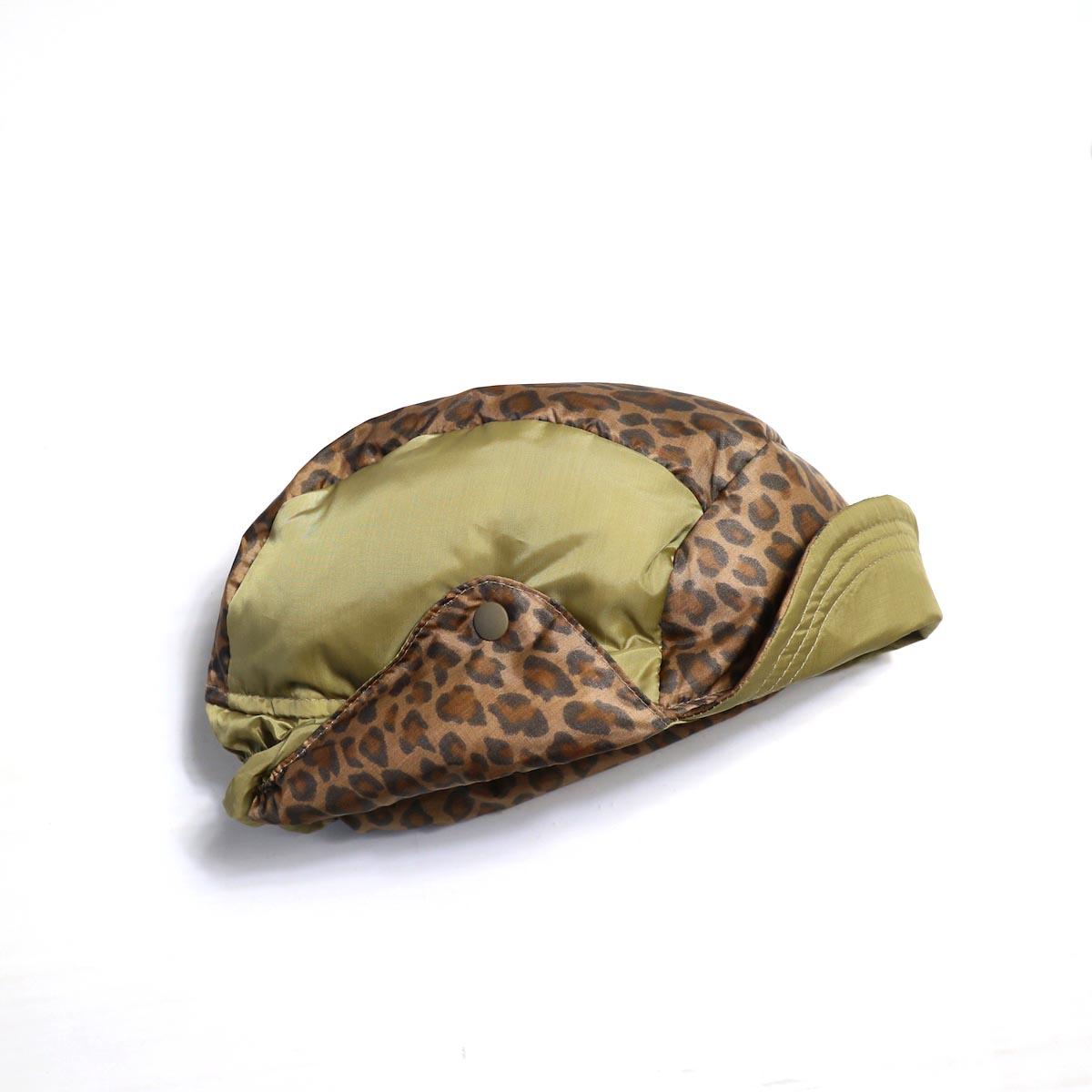 Needles / Bird Shooting Cap - Poly Taffeta / Leopard (Brown)