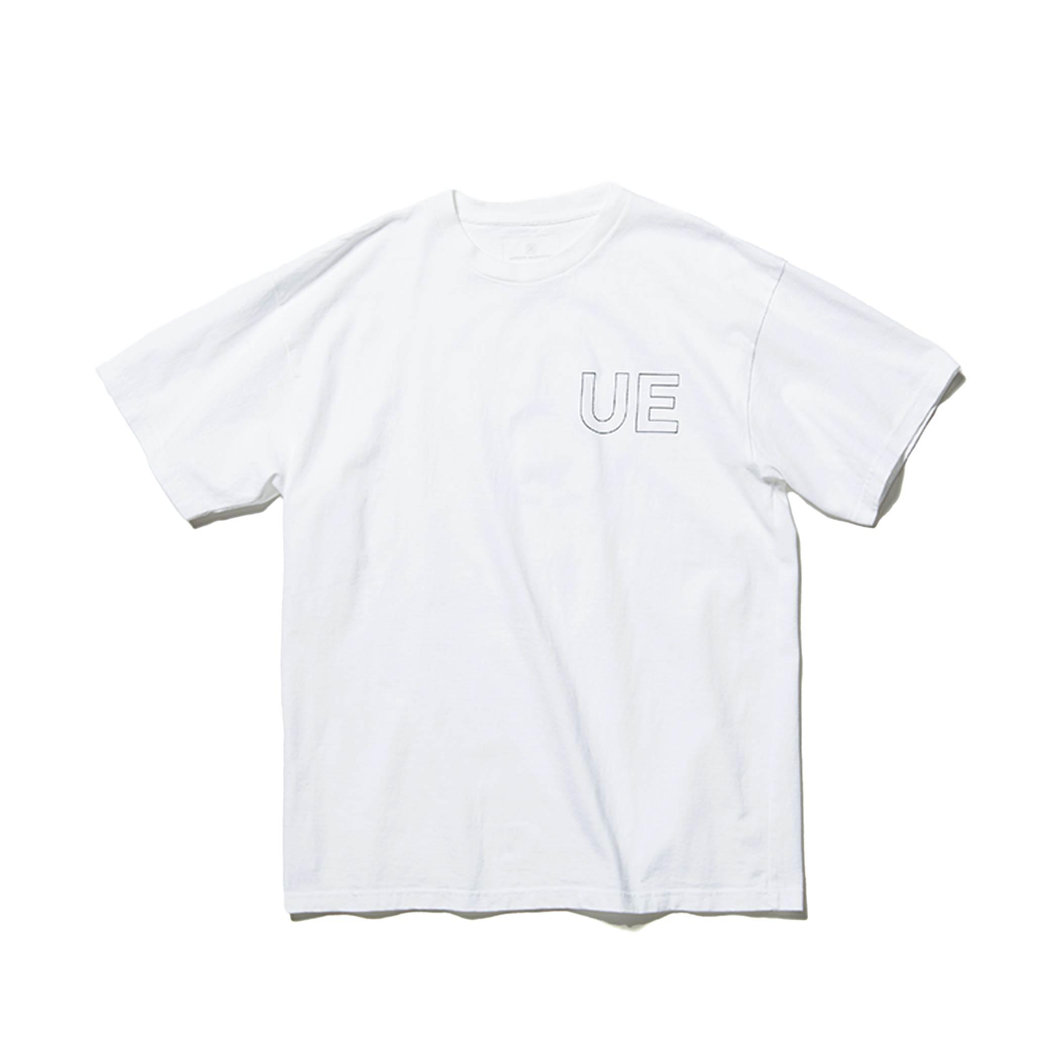 uniform experiment / OUTLINE LOGO TEE (Black)