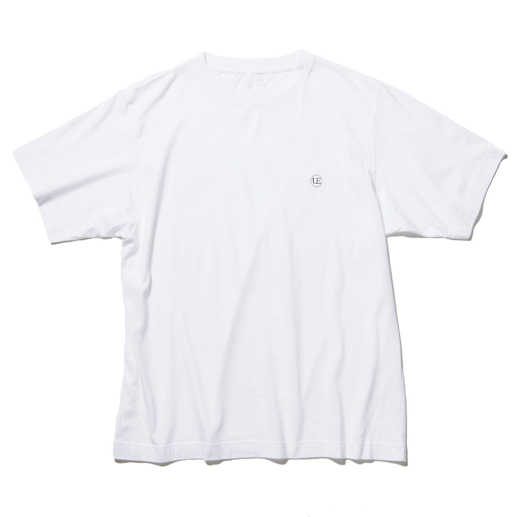 uniform experiment / AUTHENTIC WIDE CIRCLE LOGO TEE (White)