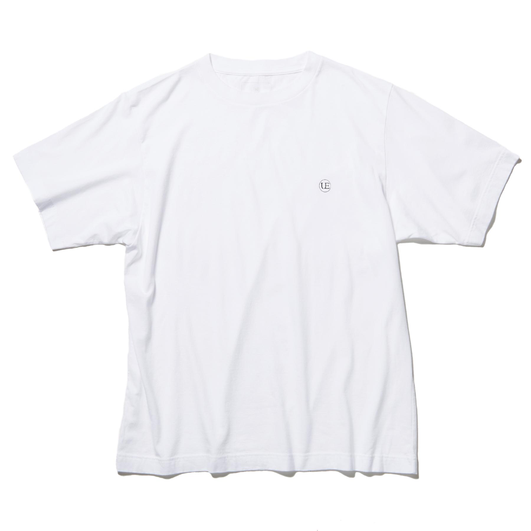 uniform experiment / AUTHENTIC WIDE CIRCLE LOGO TEE (White)