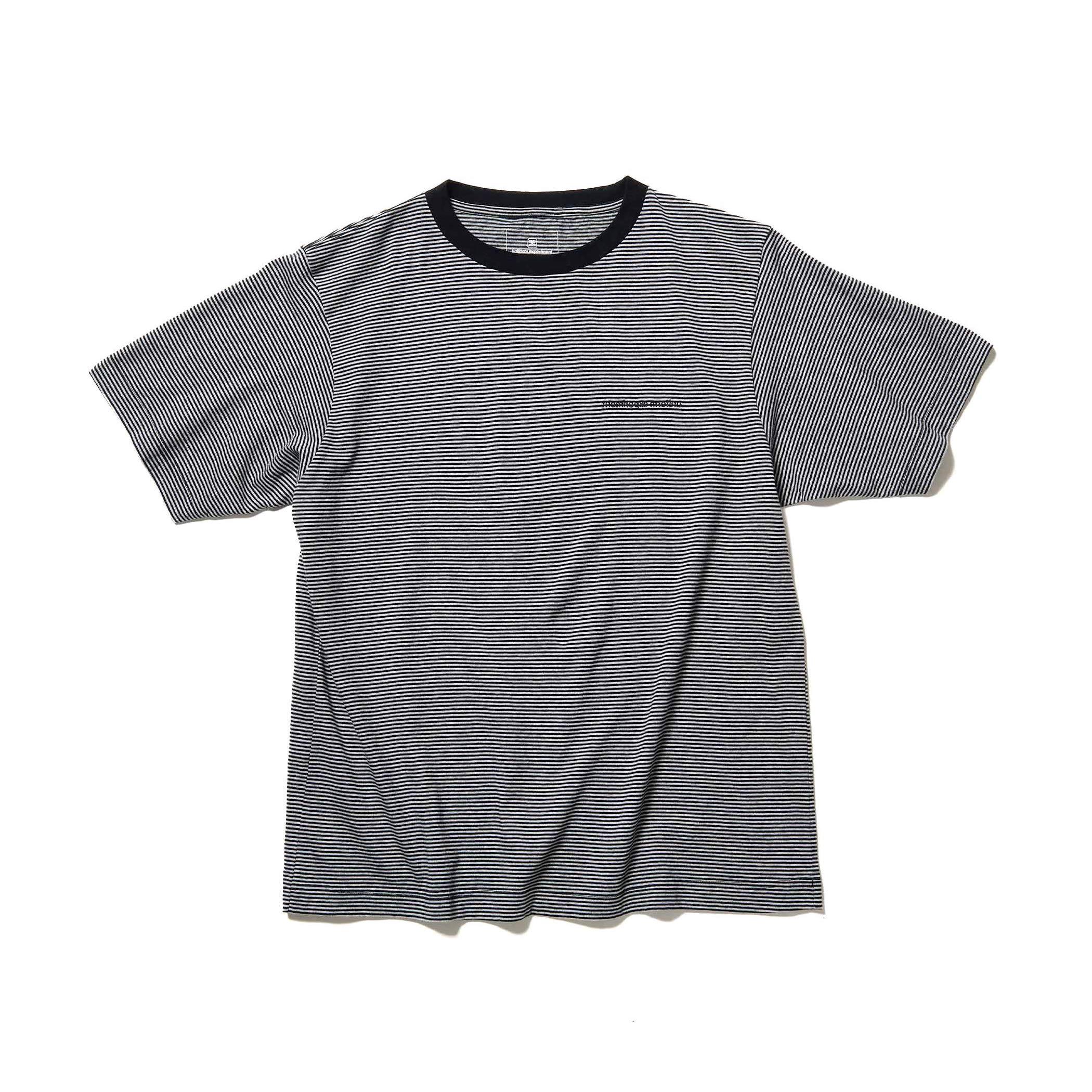 uniform experiment / NARROW BORDER WIDE TEE (Gray)