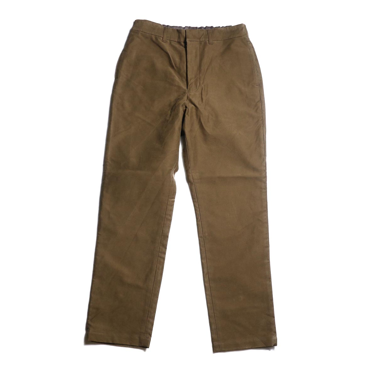 A VONTADE / Cotton Suede Easy Trousers (Ciger Brown)