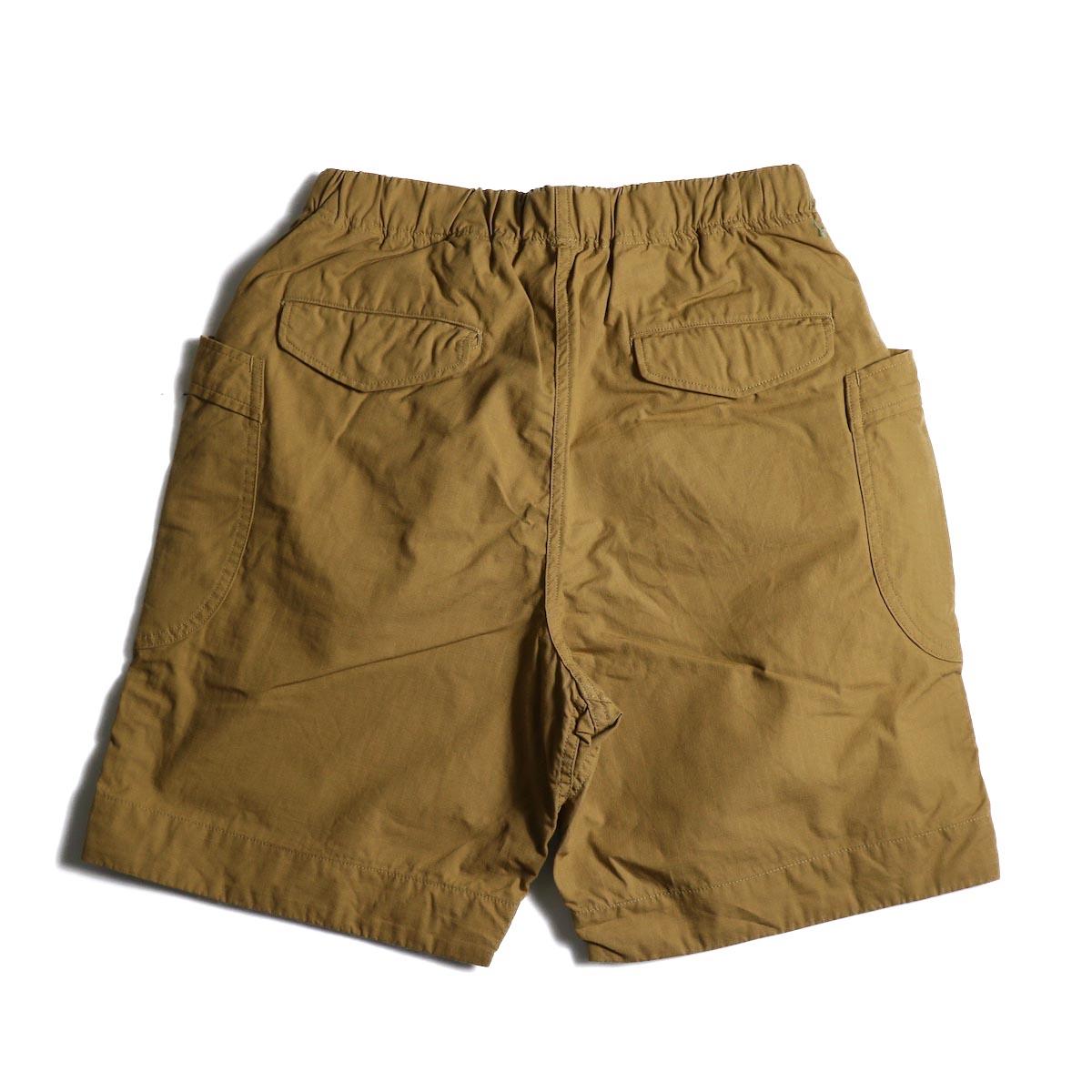 A VONTADE / Fatigue Shorts (Camel)  背面