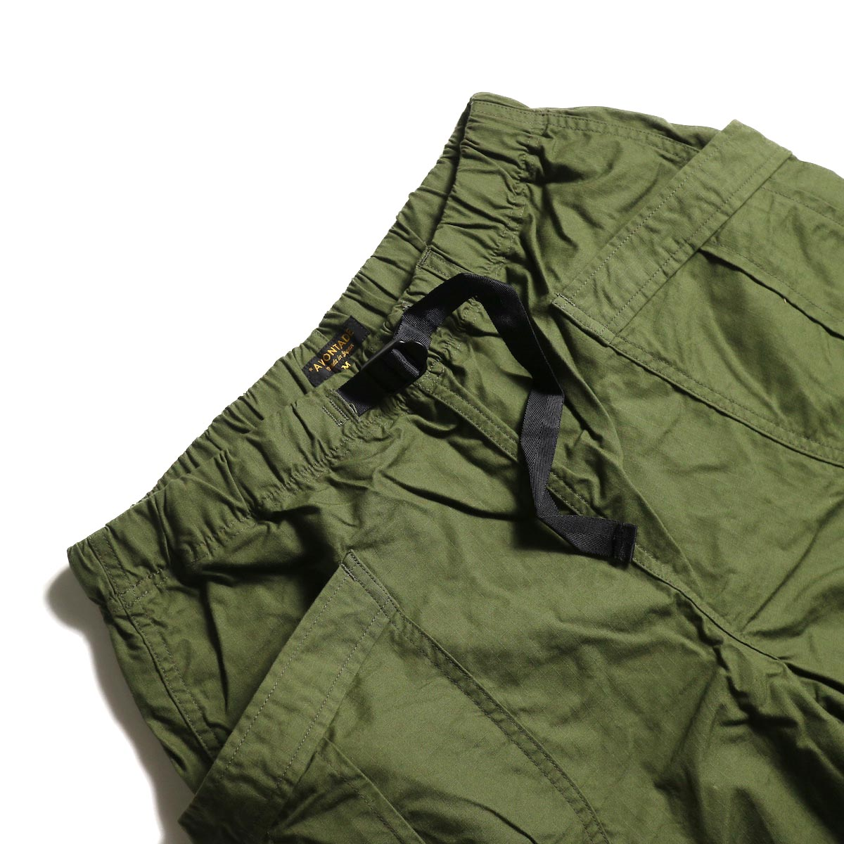 A VONTADE / Fatigue Shorts (Olive) ウエスト