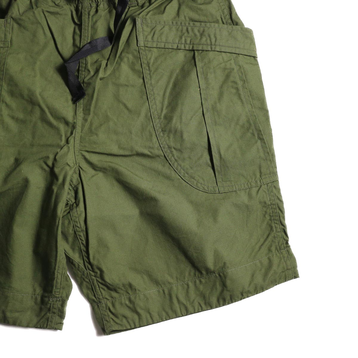 A VONTADE / Fatigue Shorts (Olive) ポケット