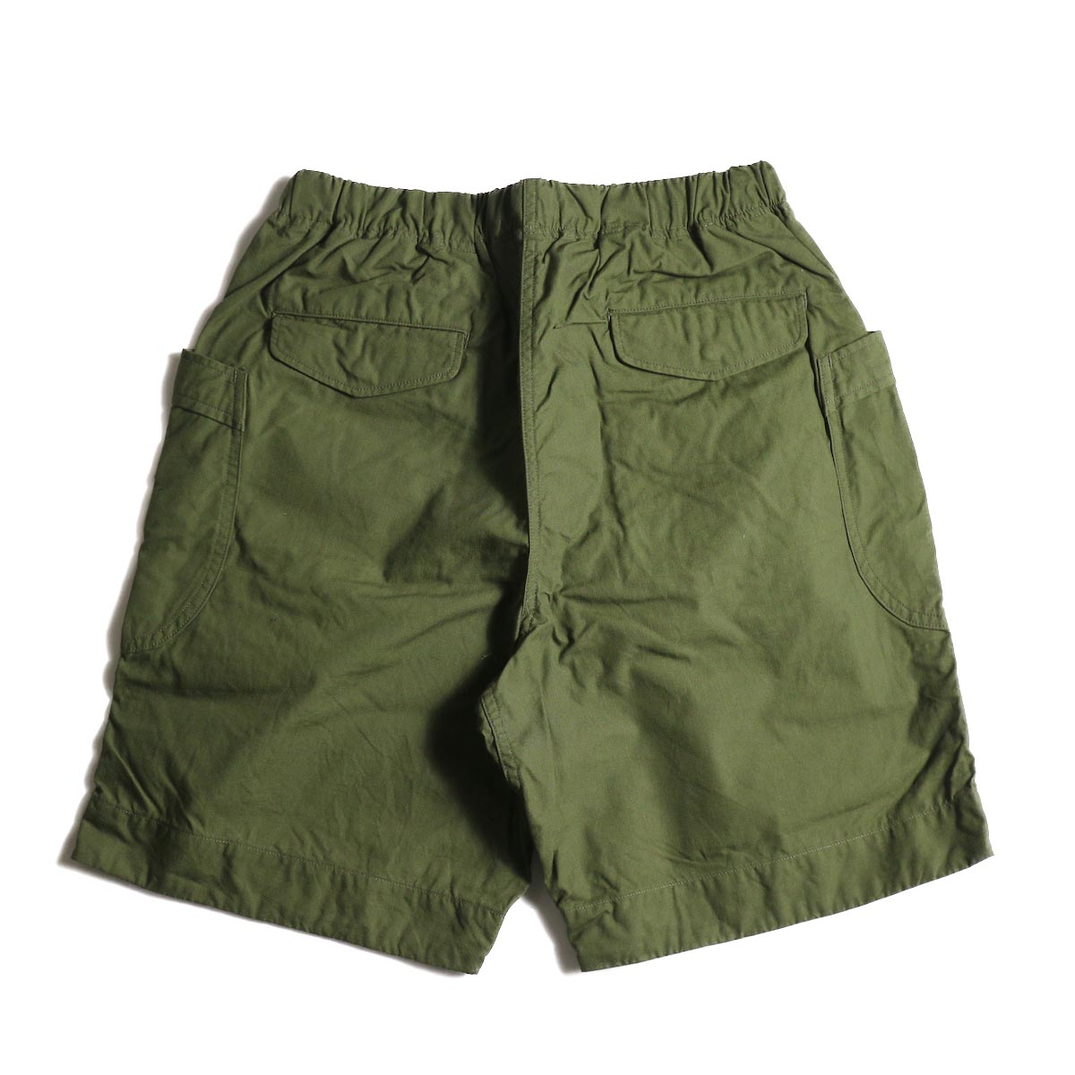 A VONTADE / Fatigue Shorts (Olive) 背面