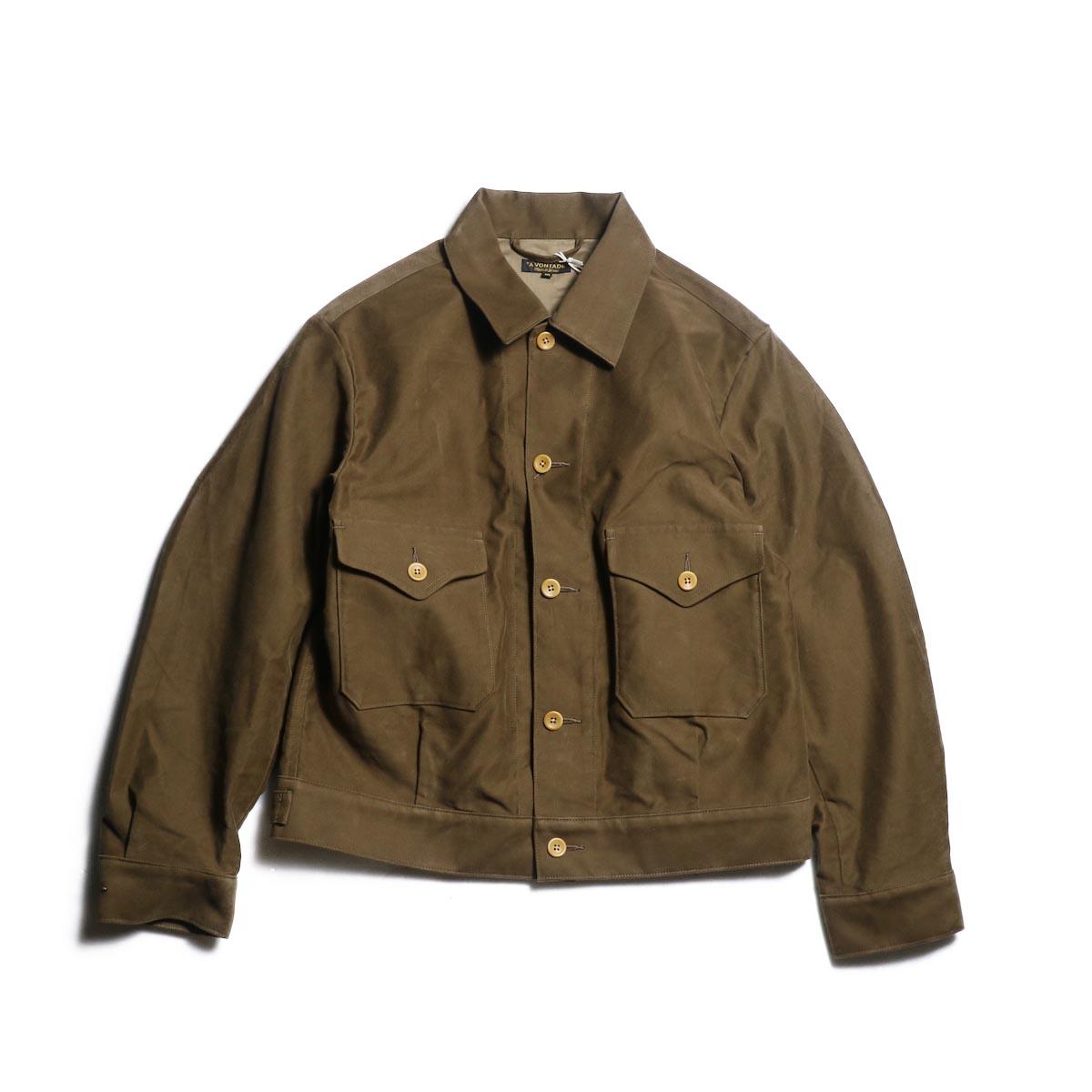 A VONTADE / IKE Short Jacket (Ciger Brown)