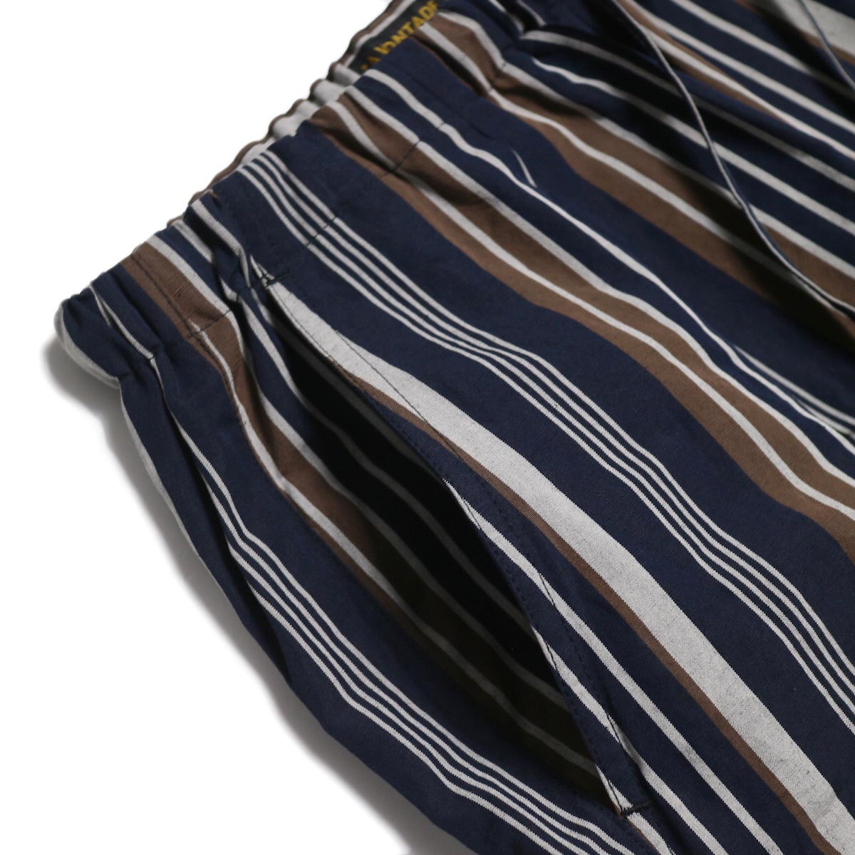 A VONTADE / Lax Easy Pants -Navy Stripe ポケット