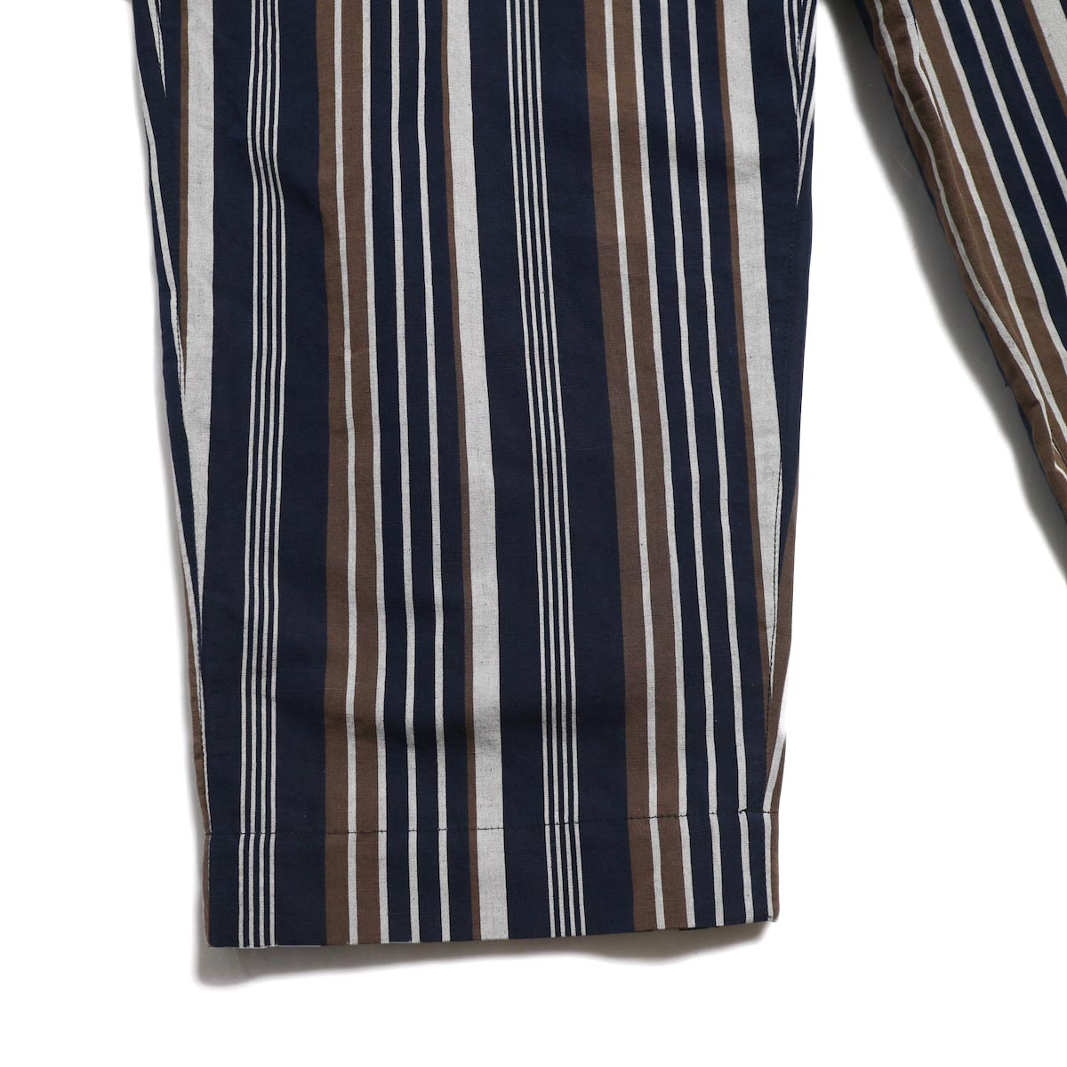 A VONTADE / Lax Easy Pants -Navy Stripe 裾