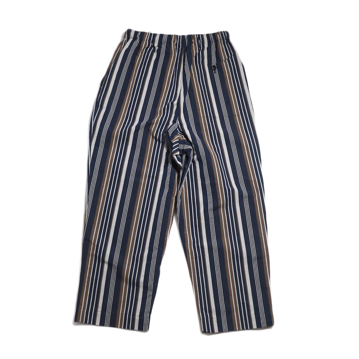 A VONTADE / Lax Easy Pants -Navy Stripe 背面