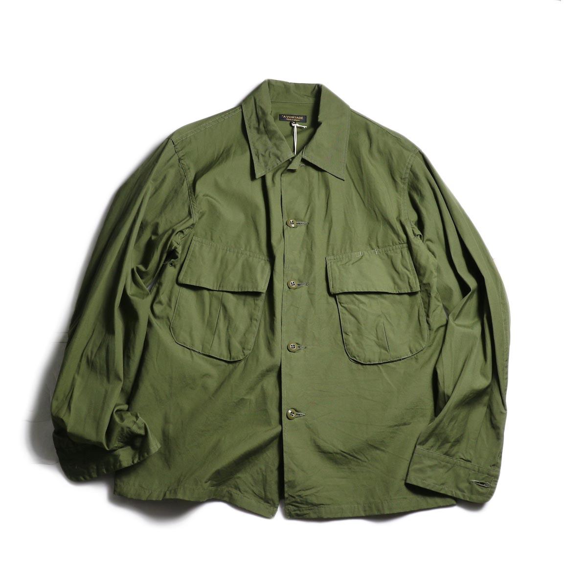 A VONTADE / Combat Tropical Short Jacket (Olive)