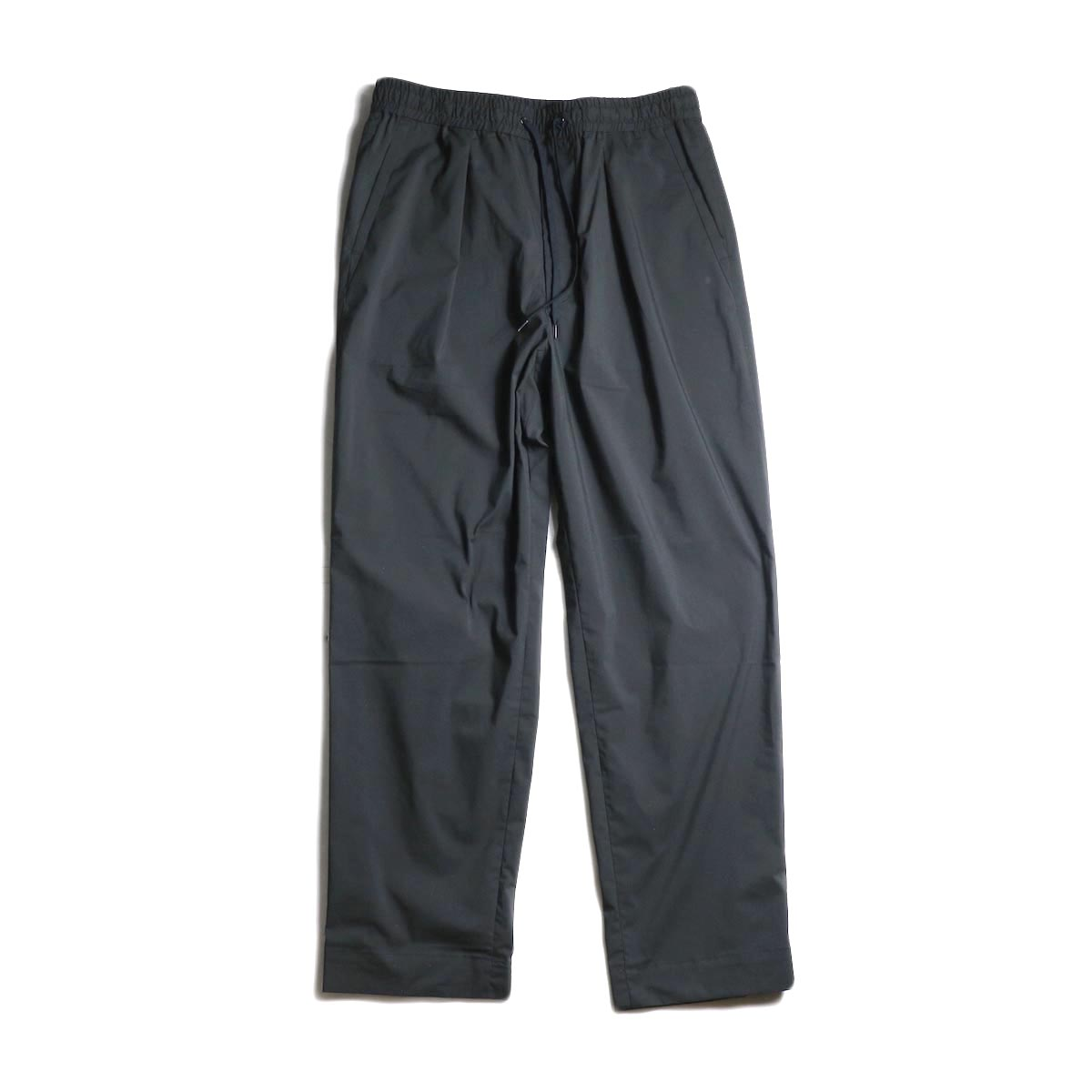 A VONTADE / Comfort Wide Easy Trousers (Black)