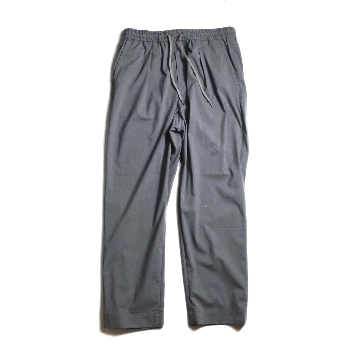 A VONTADE / Comfort Wide Easy Trousers (Charcoal)