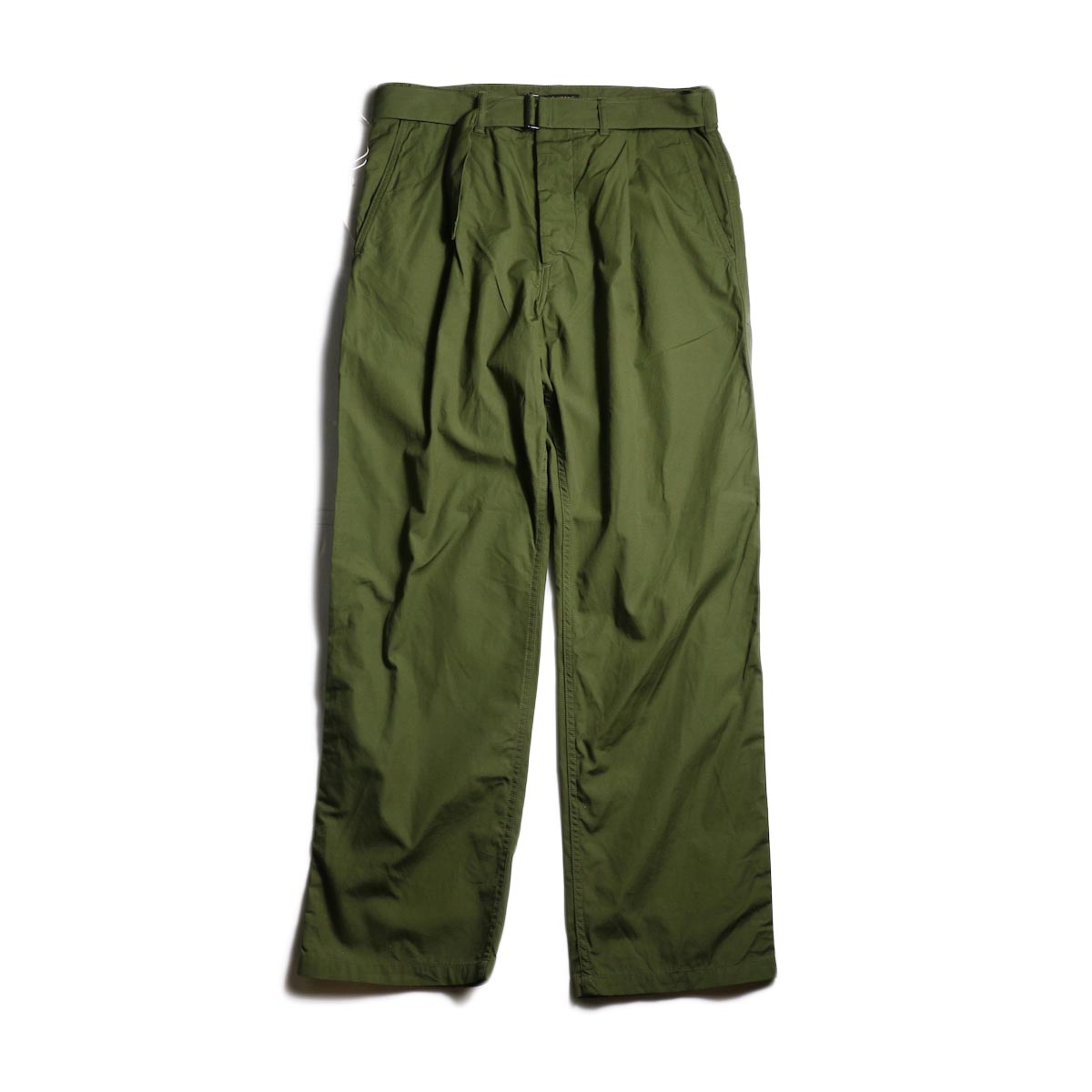 A VONTADE / Mil. Cookman Trousers w/Belt (Olive)