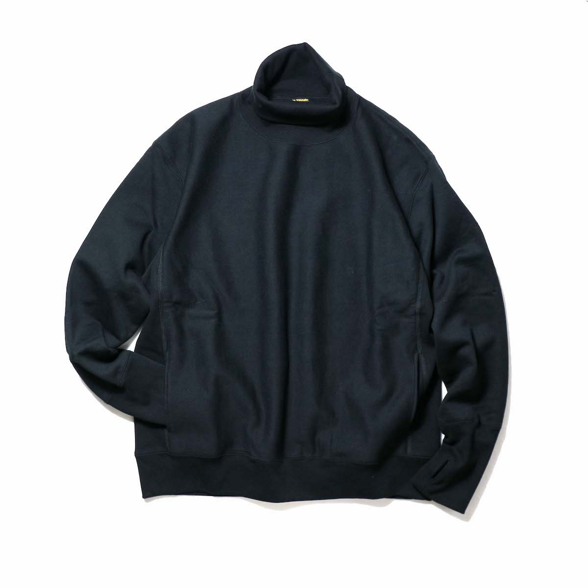 A VONTADE / Turtle Neck Sweat L/S (Black)