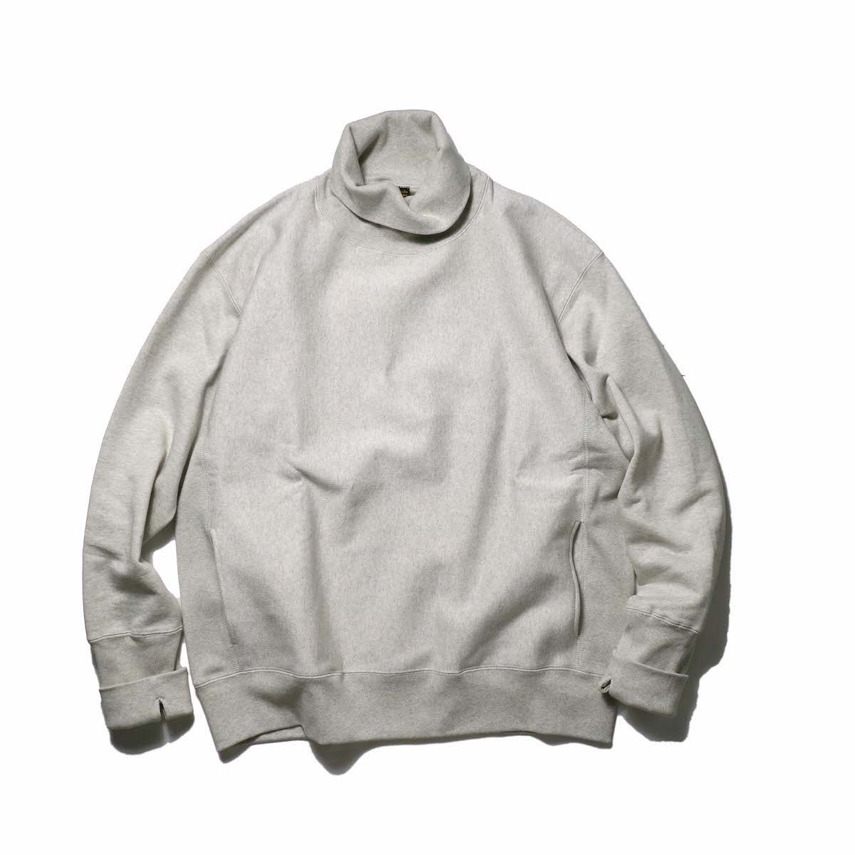 A VONTADE / Turtle Neck Sweat L/S (Oatmeal)