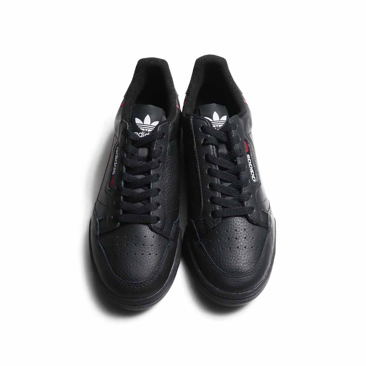 adidas originals / CONTINENTAL80 (G27707) -Black 正面