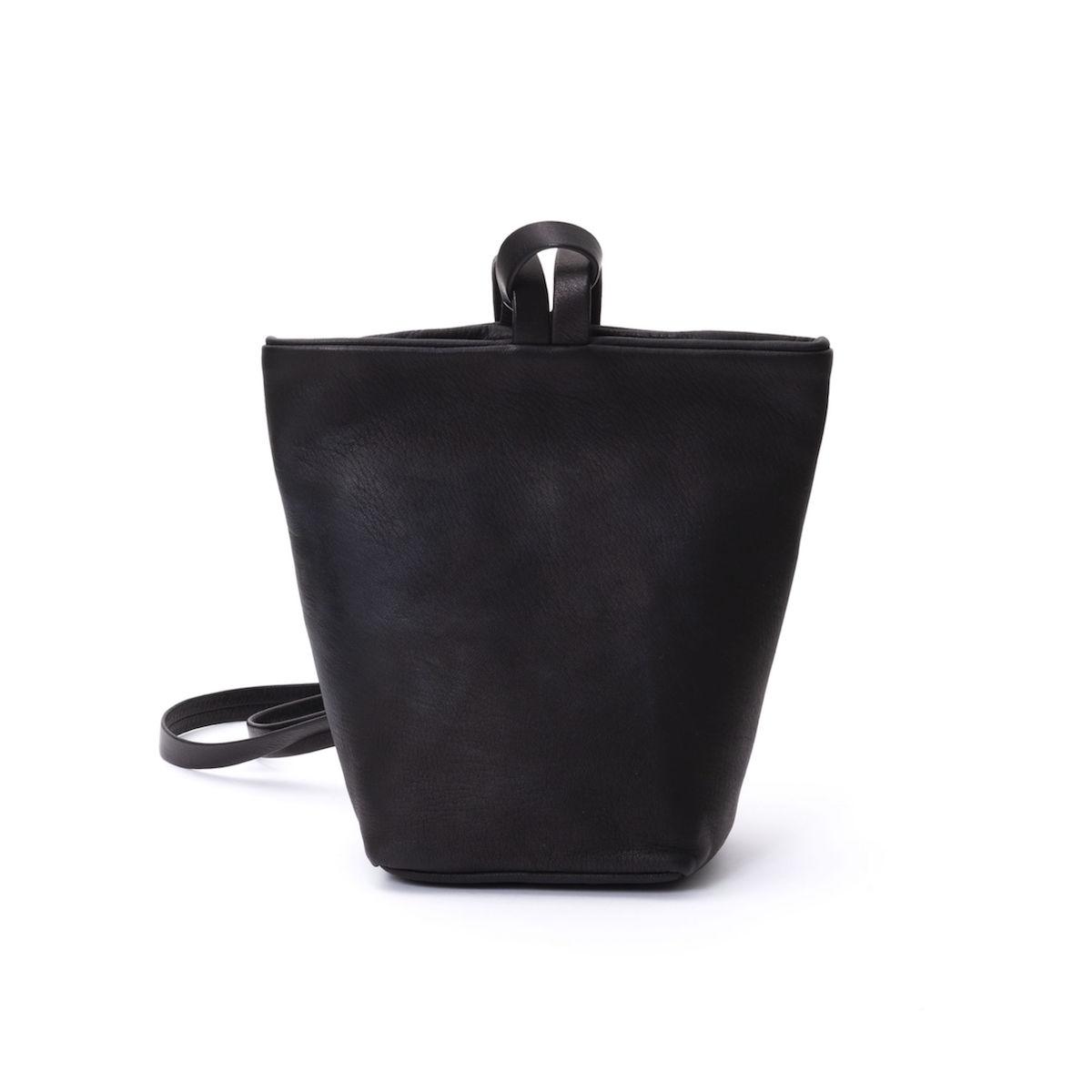 Aeta / DEER LEATHER RUCKSACK S (Black)
