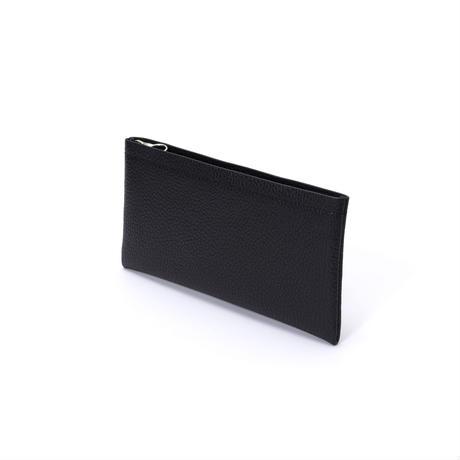 Aeta / PG LEATHER LONG WALLET (Black) 斜め