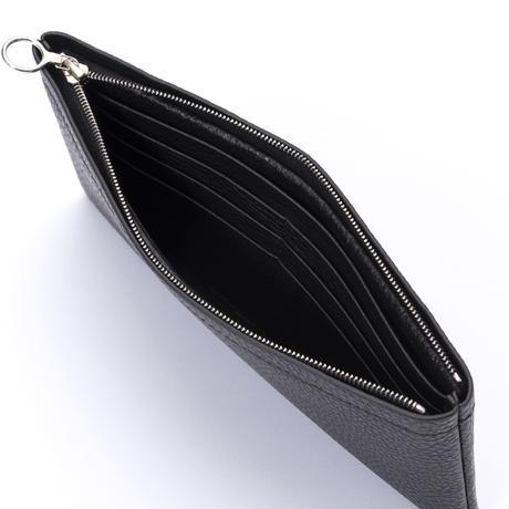 Aeta / PG LEATHER LONG WALLET (Black) 収納②