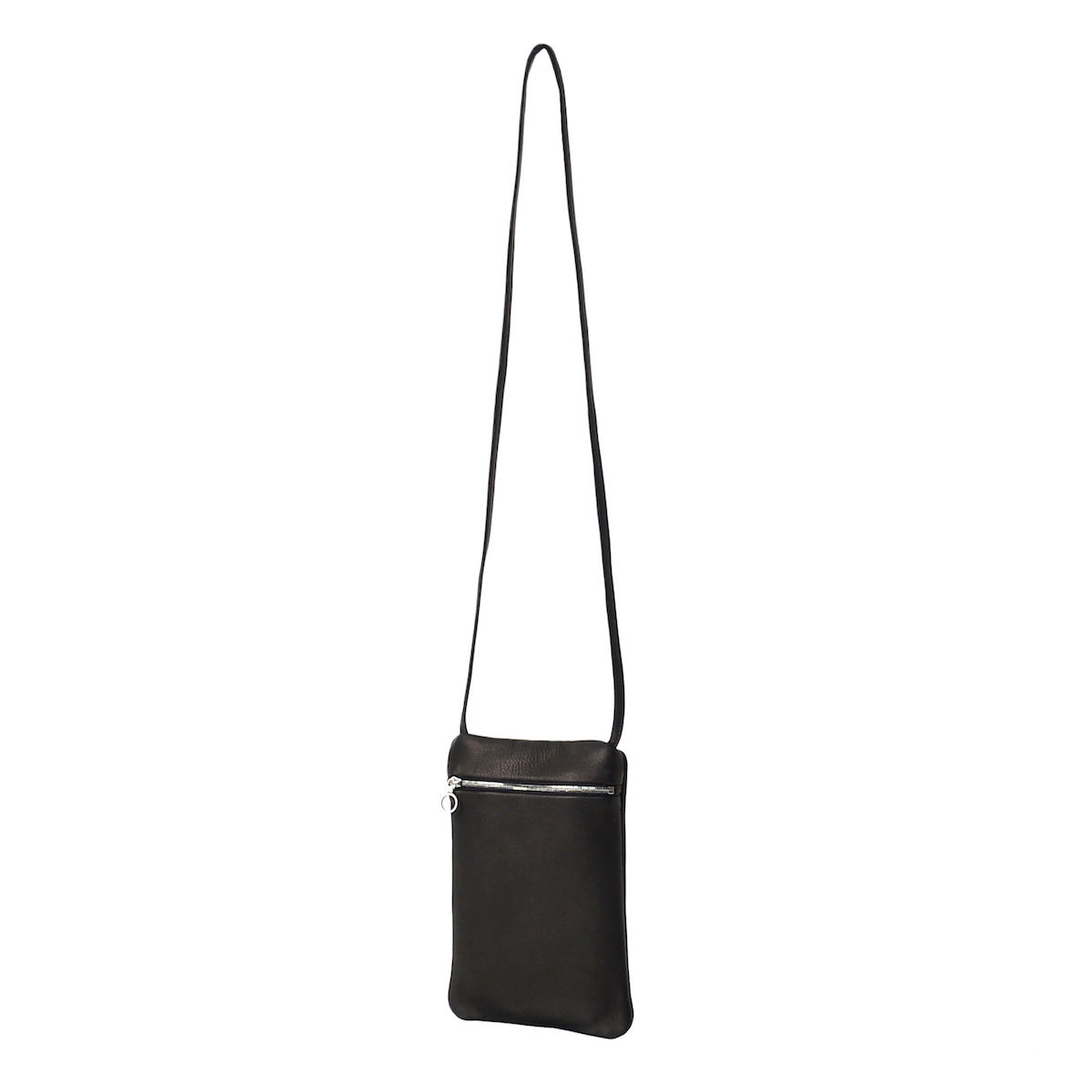 Aeta / DEER LEATHER FLAT POUCH SHOULDER typeB
