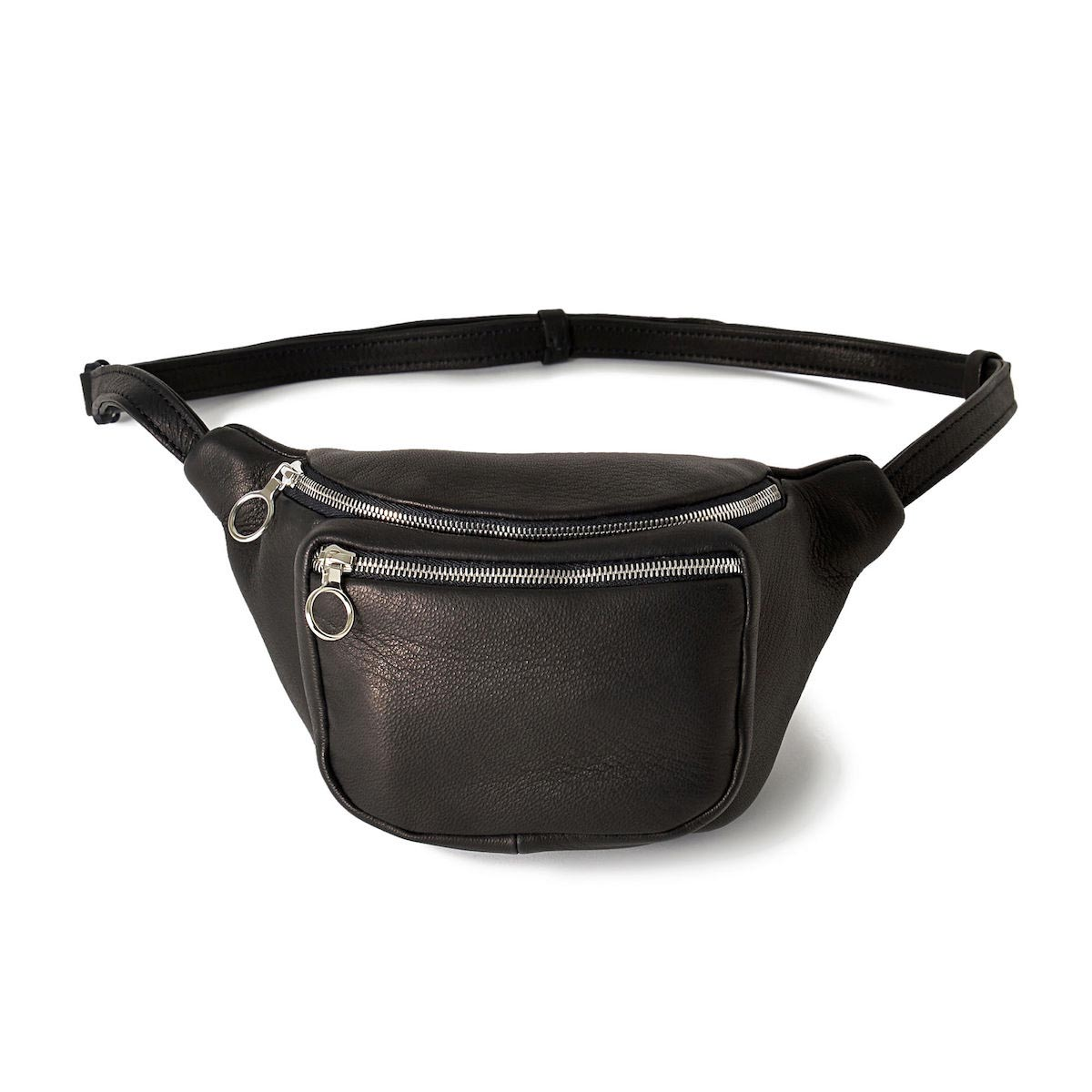 aeta / DEER LEATHER WAIST POUCH S