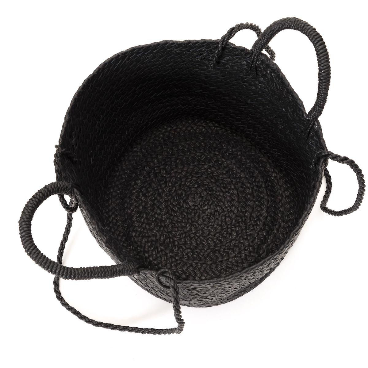 Aeta / LEATHER BASKET M + SHOULDER (Black)収納