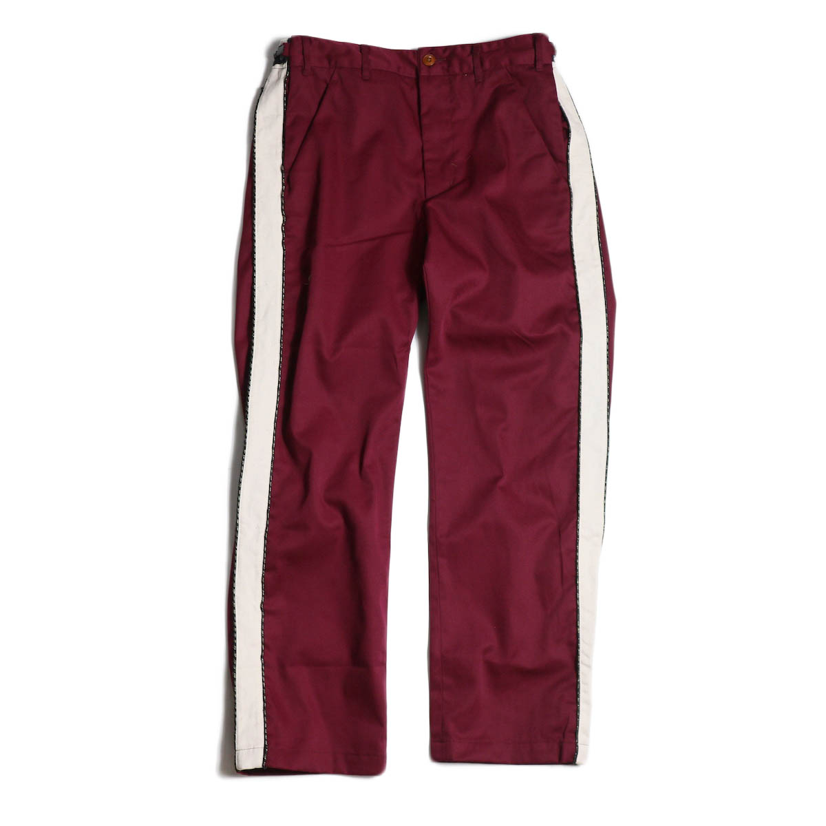 AiE / MB Pant -PC TWILL (Burgundy)