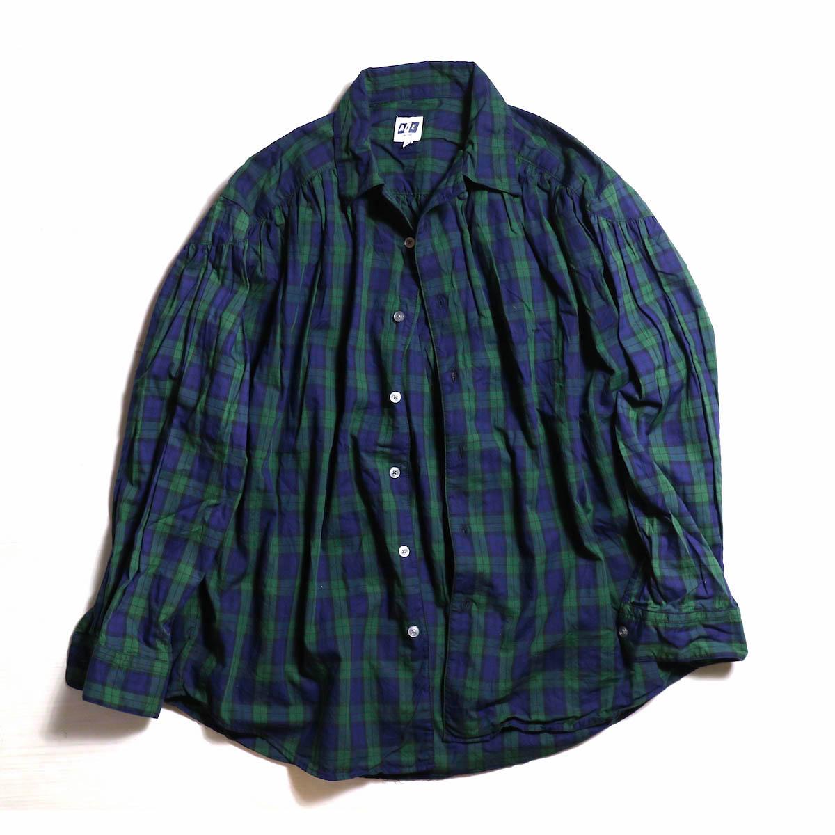 AiE / Painter Shirt -Tartan Check -Blackwatch