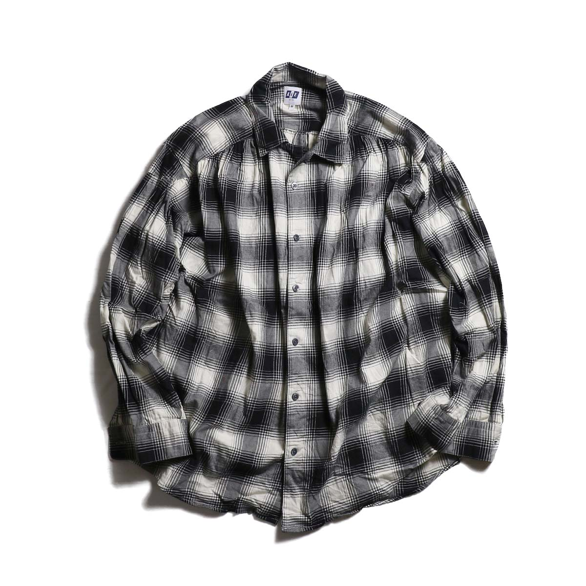 AiE / painter shirt - brushed twill plaid