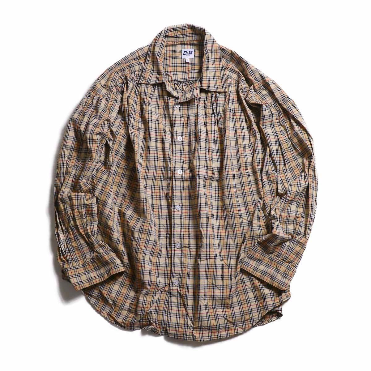 AiE / painter shirt - cotton plaid