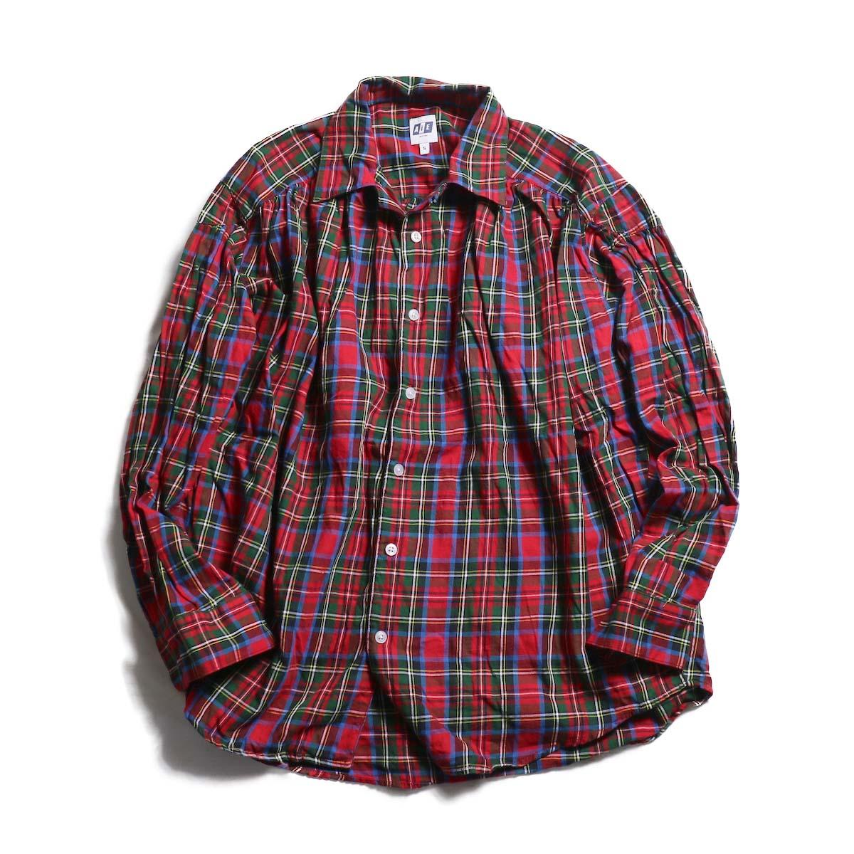 AiE / painter shirt - multi cotton plaid