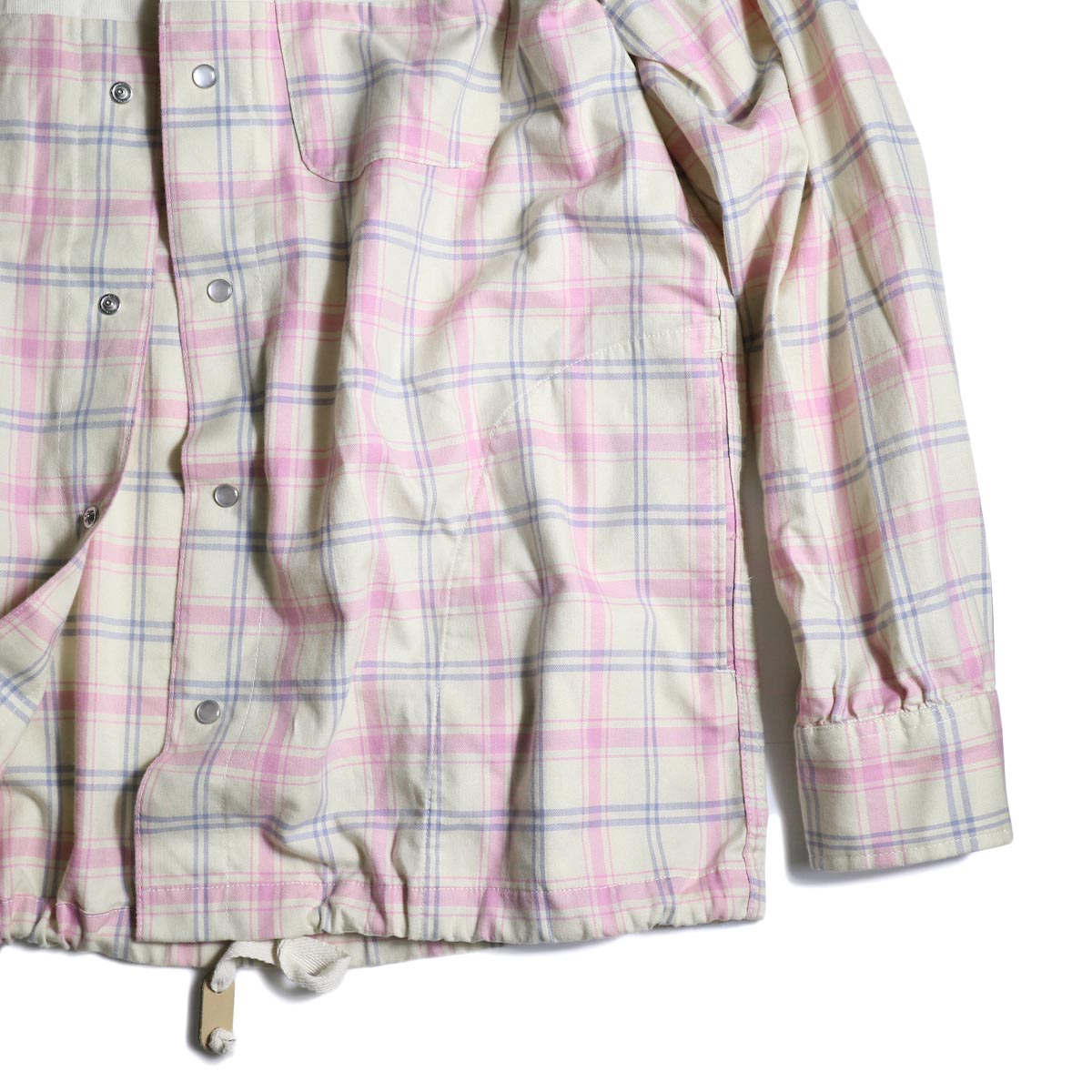 AiE / Coach Shirt -Cotton Plaid   袖、裾