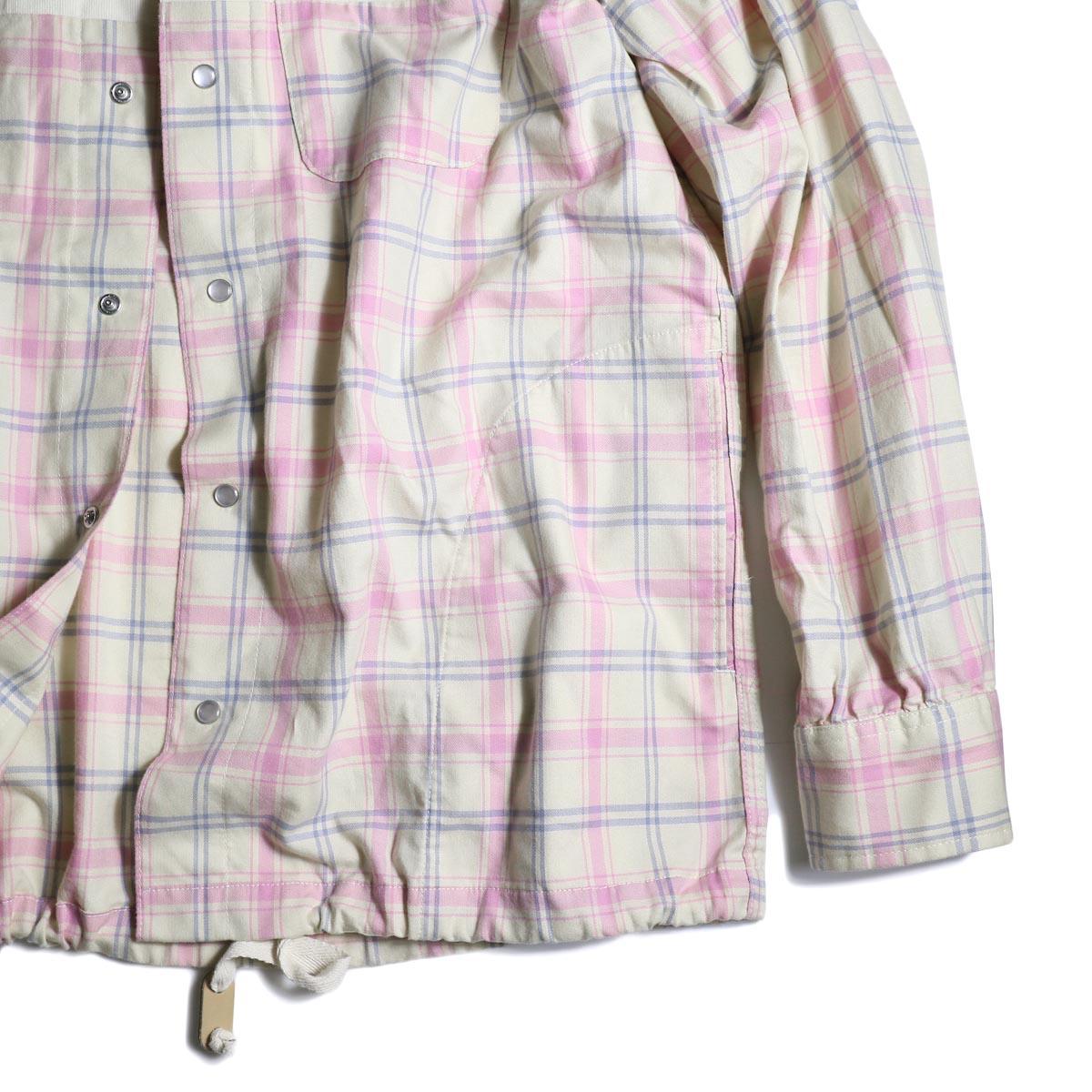 AiE / Coach Shirt -Cotton Plaid   袖、裾