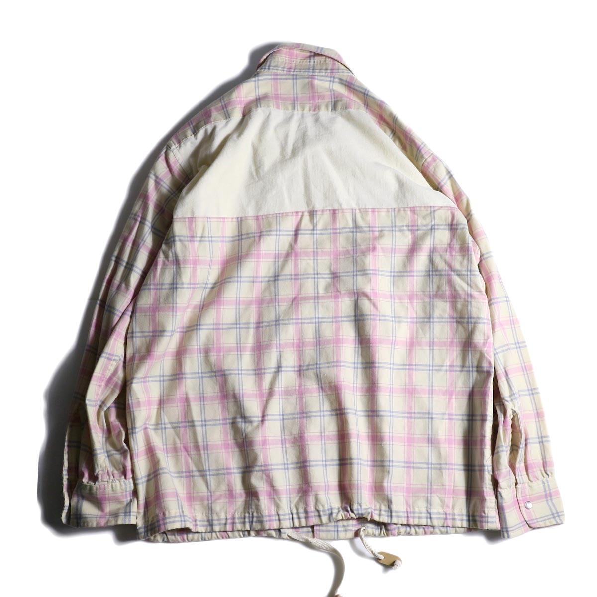 AiE / Coach Shirt -Cotton Plaid 背面