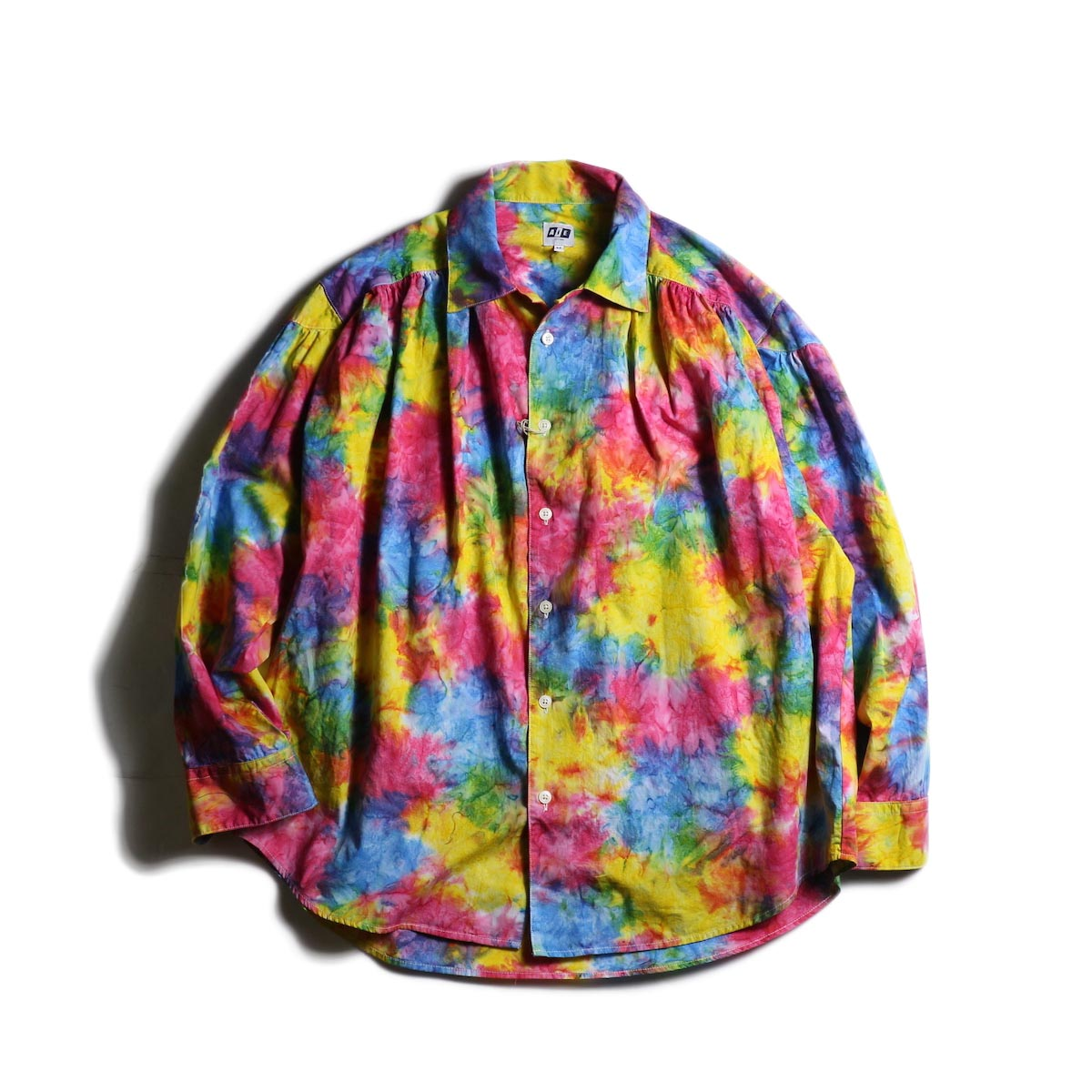 AiE / Painter Shirt -Abstract Batik (Rainbow)