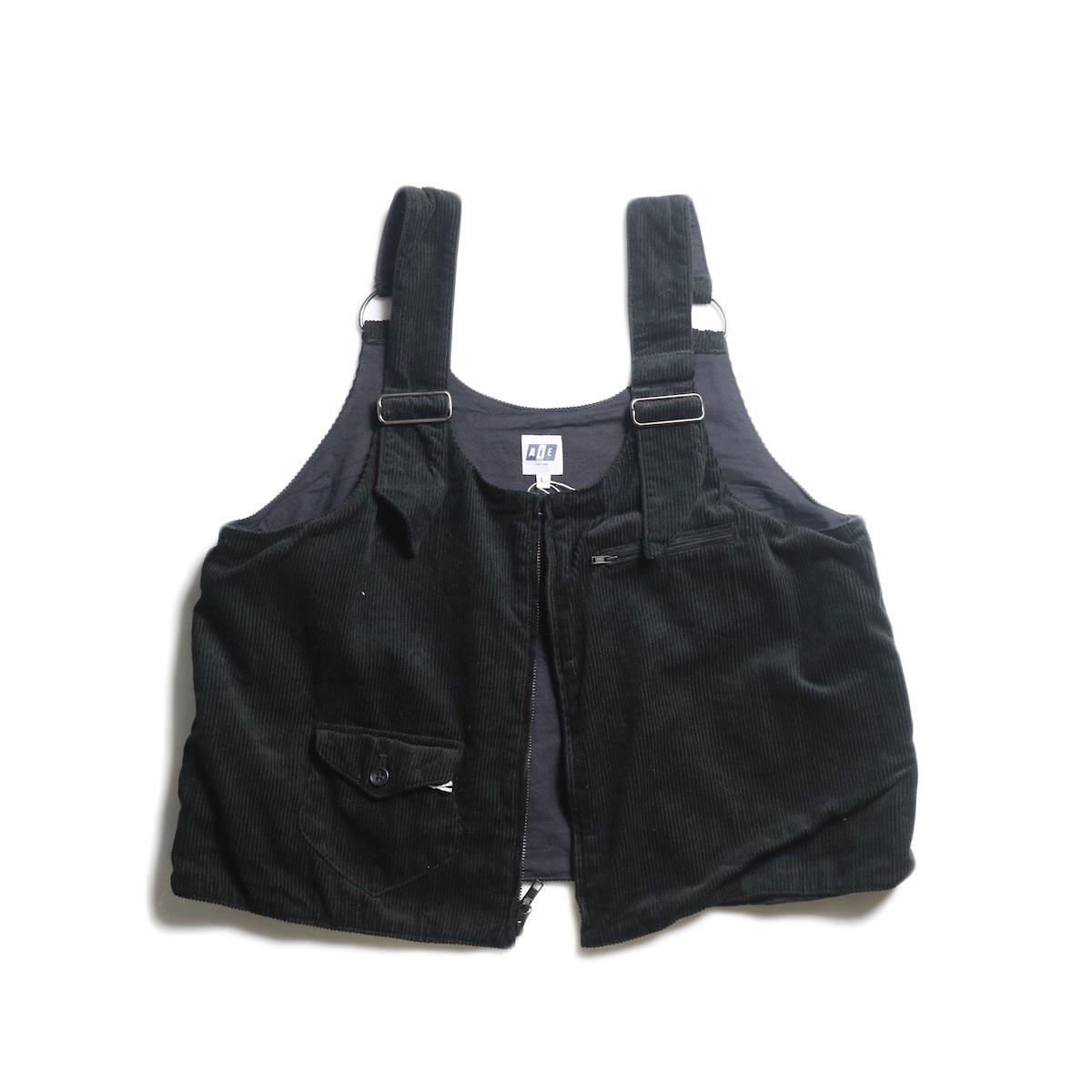 AiE / DSD Vest -8W Corduroy (Black)