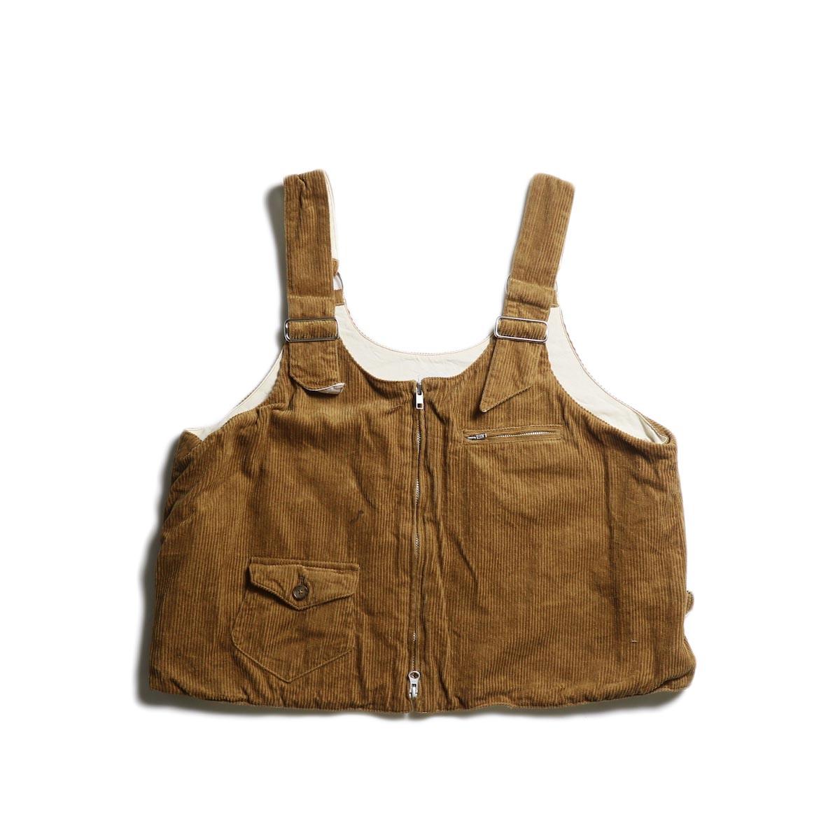 AiE / DSD Vest -8W Corduroy (Chestnut)