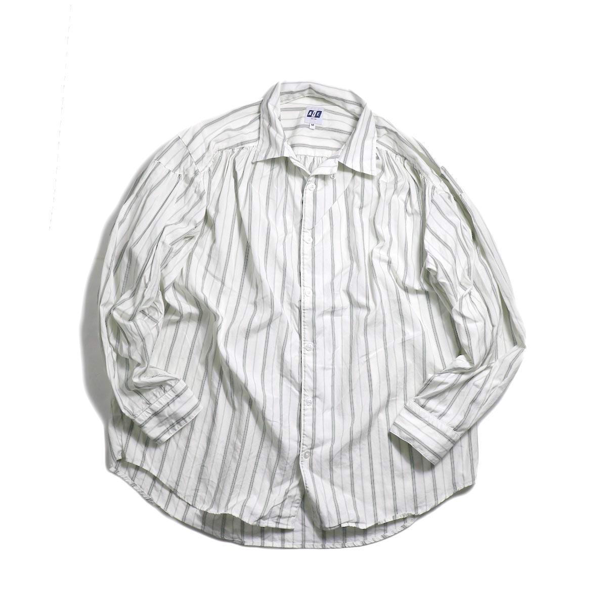 AiE / Painter Shirt -Regent St. (Grn/Wht)