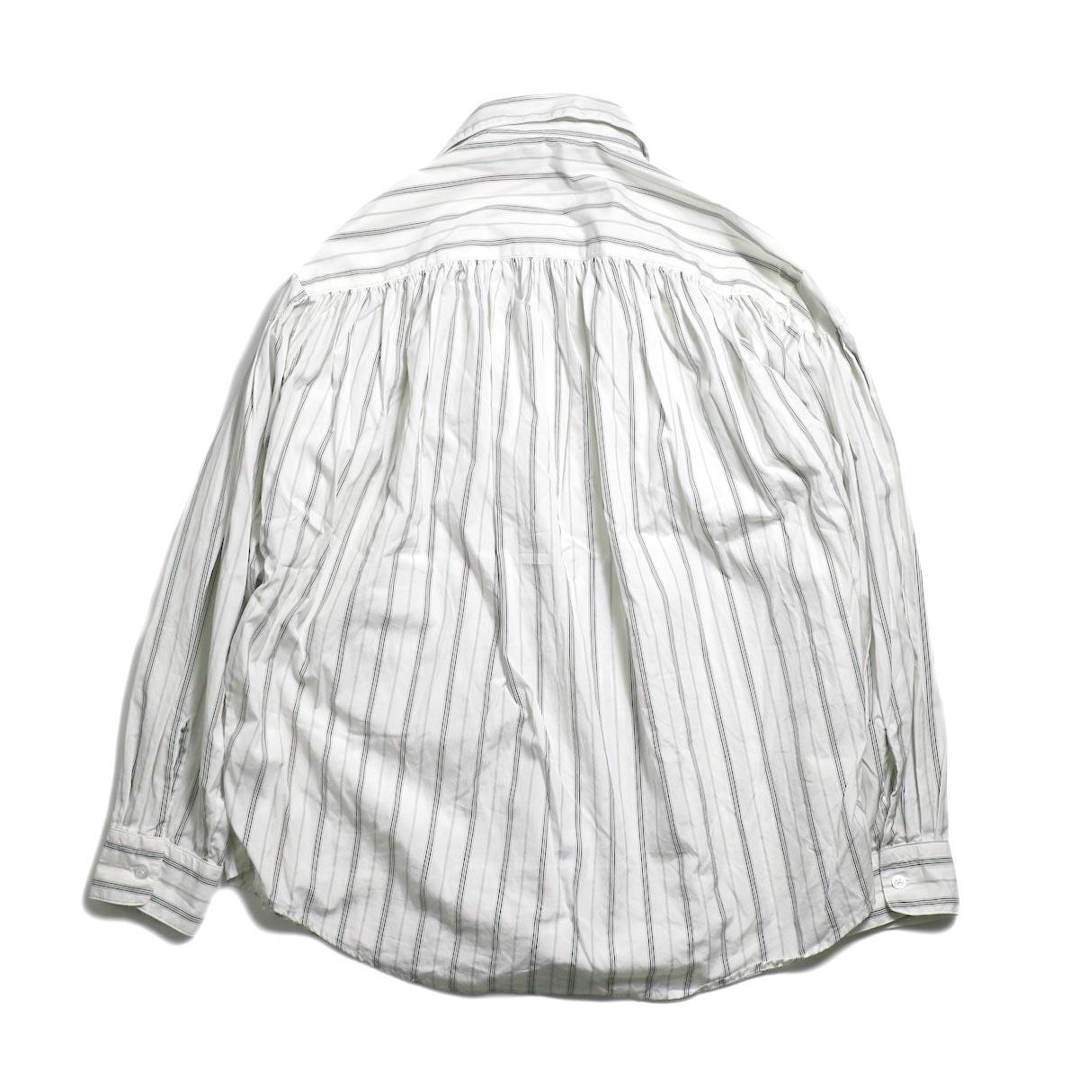 AiE / Painter Shirt -Regent St. (Grn/Wht)   背面