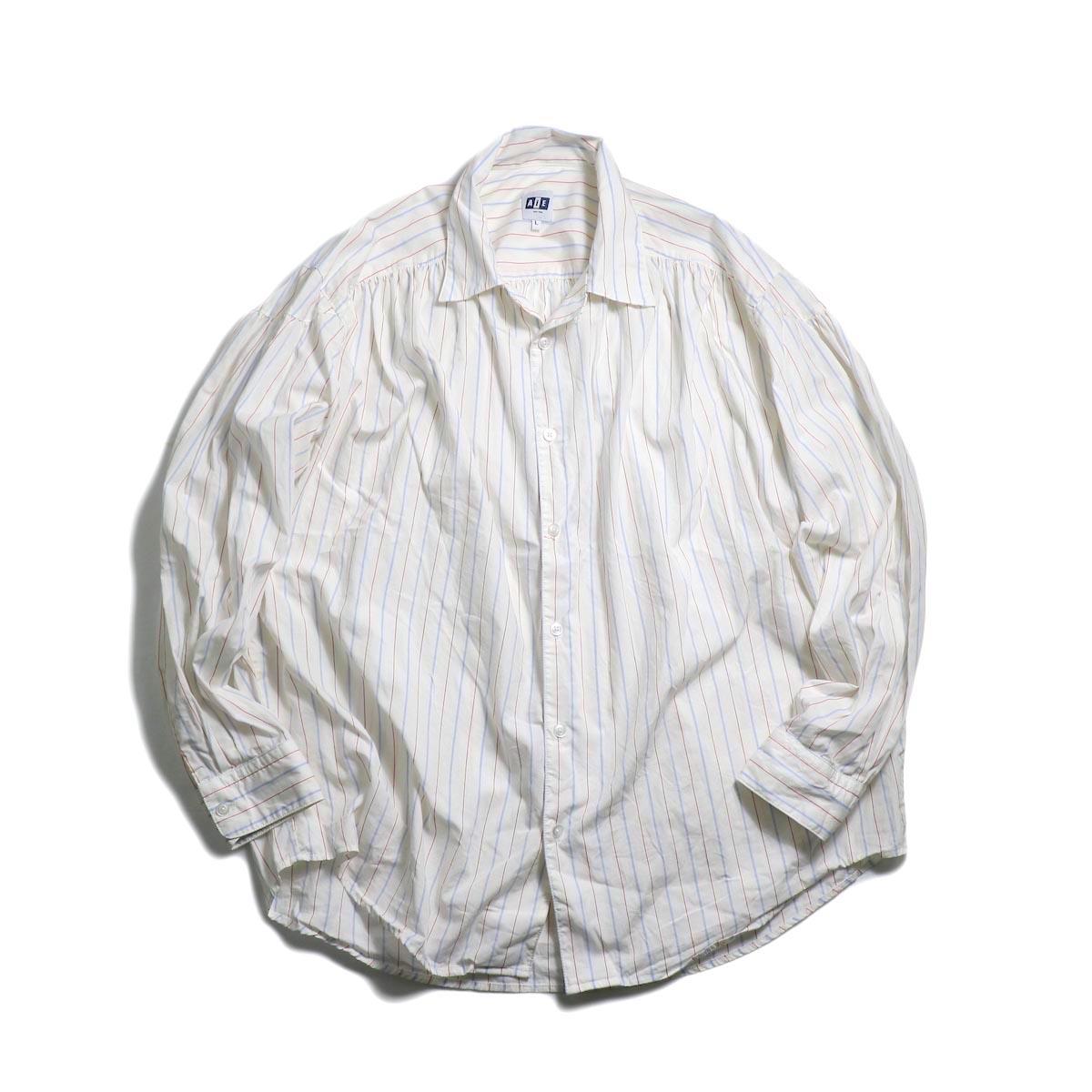 AiE / Painter Shirt -Regent St. (Red/Blu/Wht) 正面