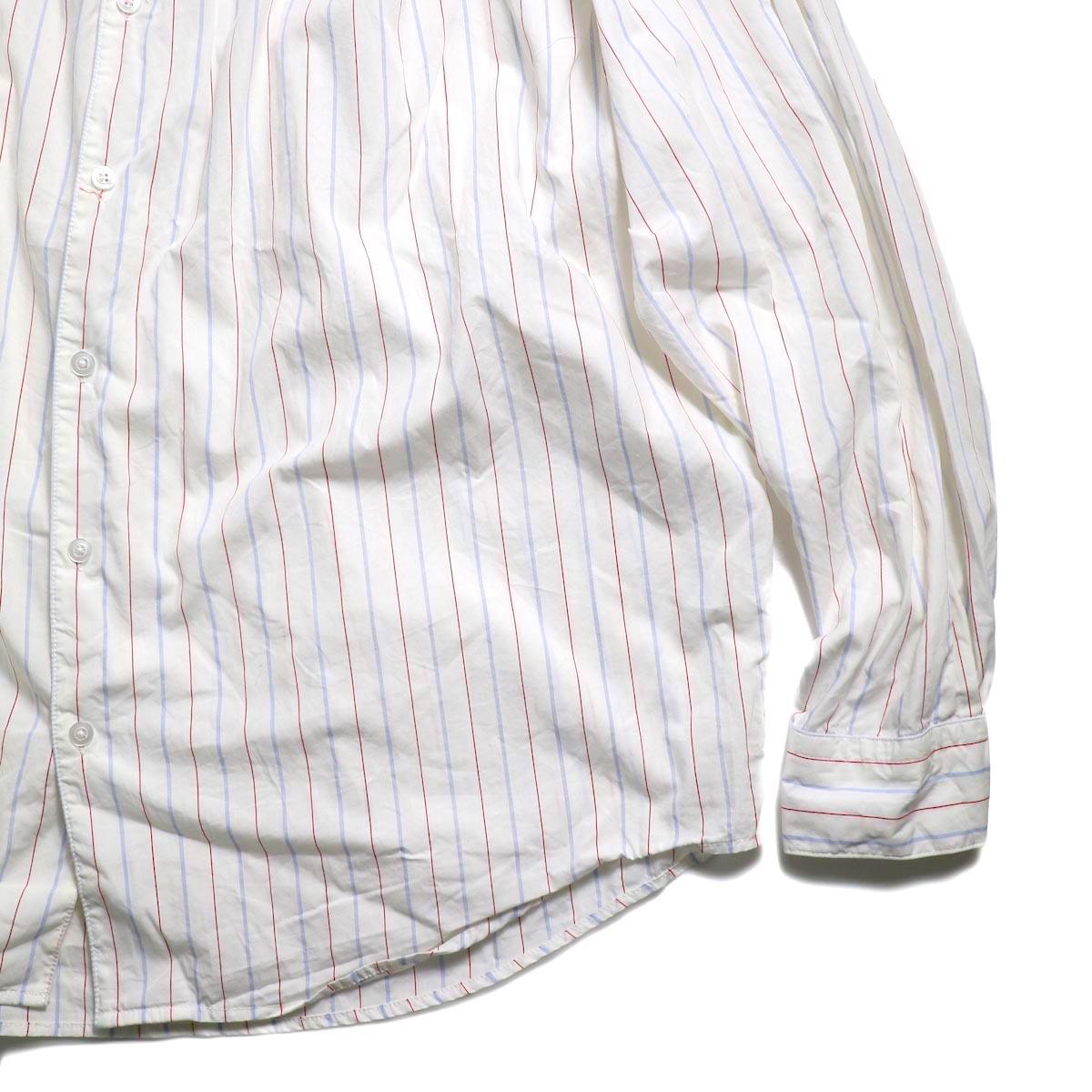 AiE / Painter Shirt -Regent St. (Red/Blu/Wht)  裾