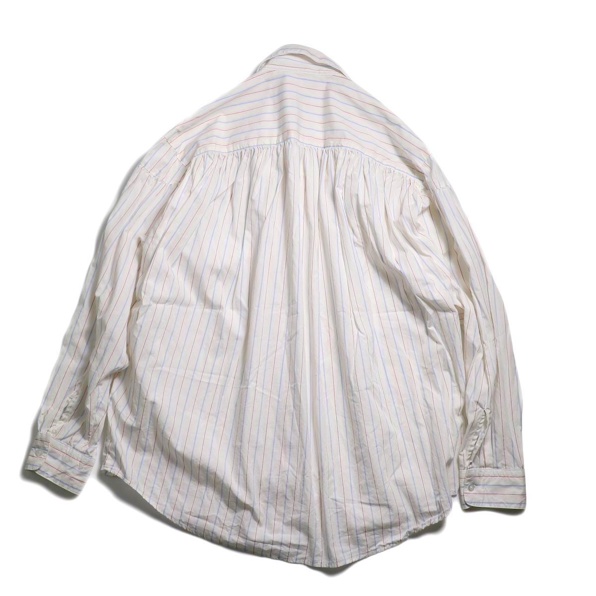 AiE / Painter Shirt -Regent St. (Red/Blu/Wht) 背面