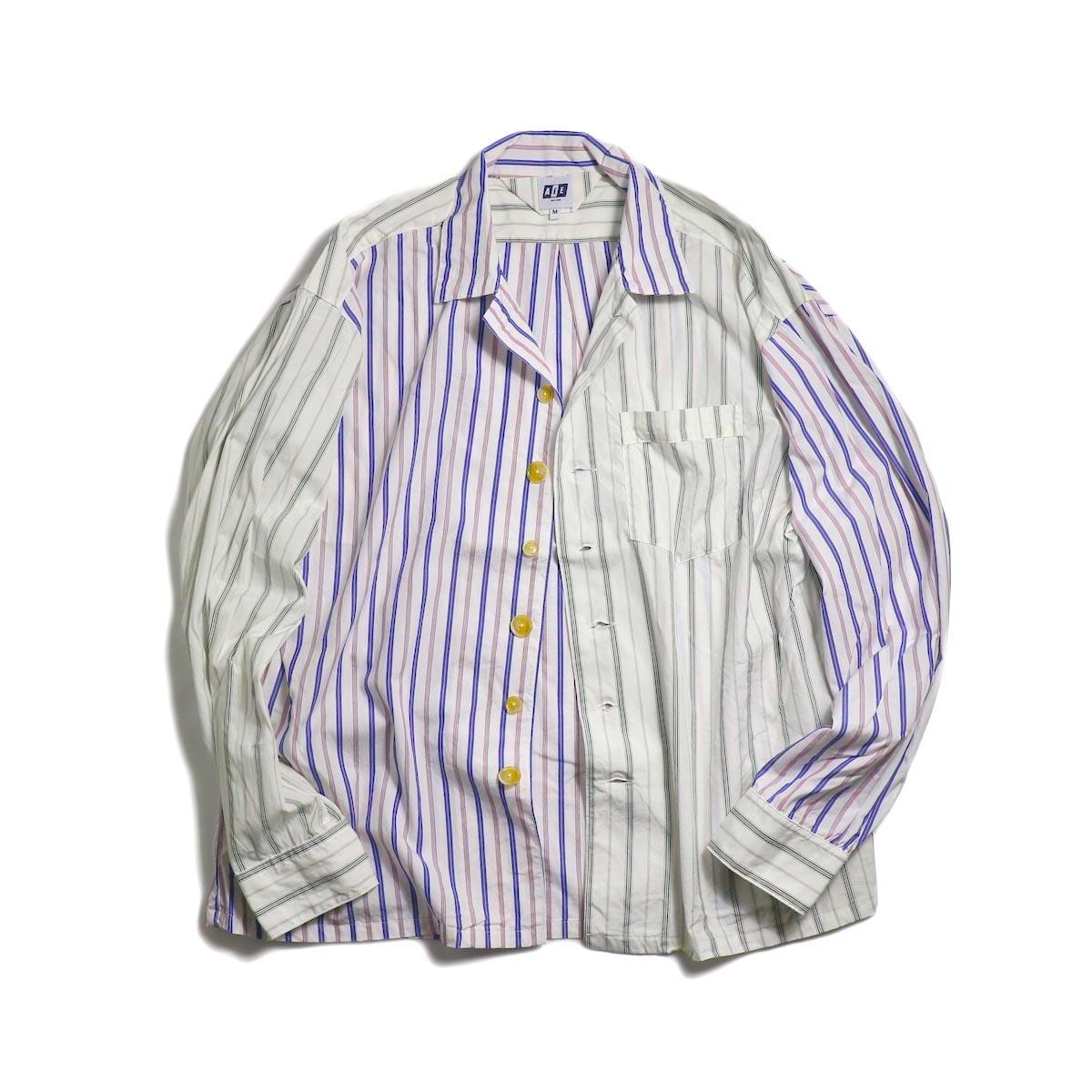 AiE / PJ Shirt -Regent St. (Red/Blu/Wht)
