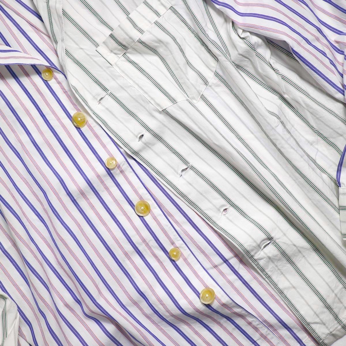 AiE / PJ Shirt -Regent St. (Red/Blu/Wht) ボタン
