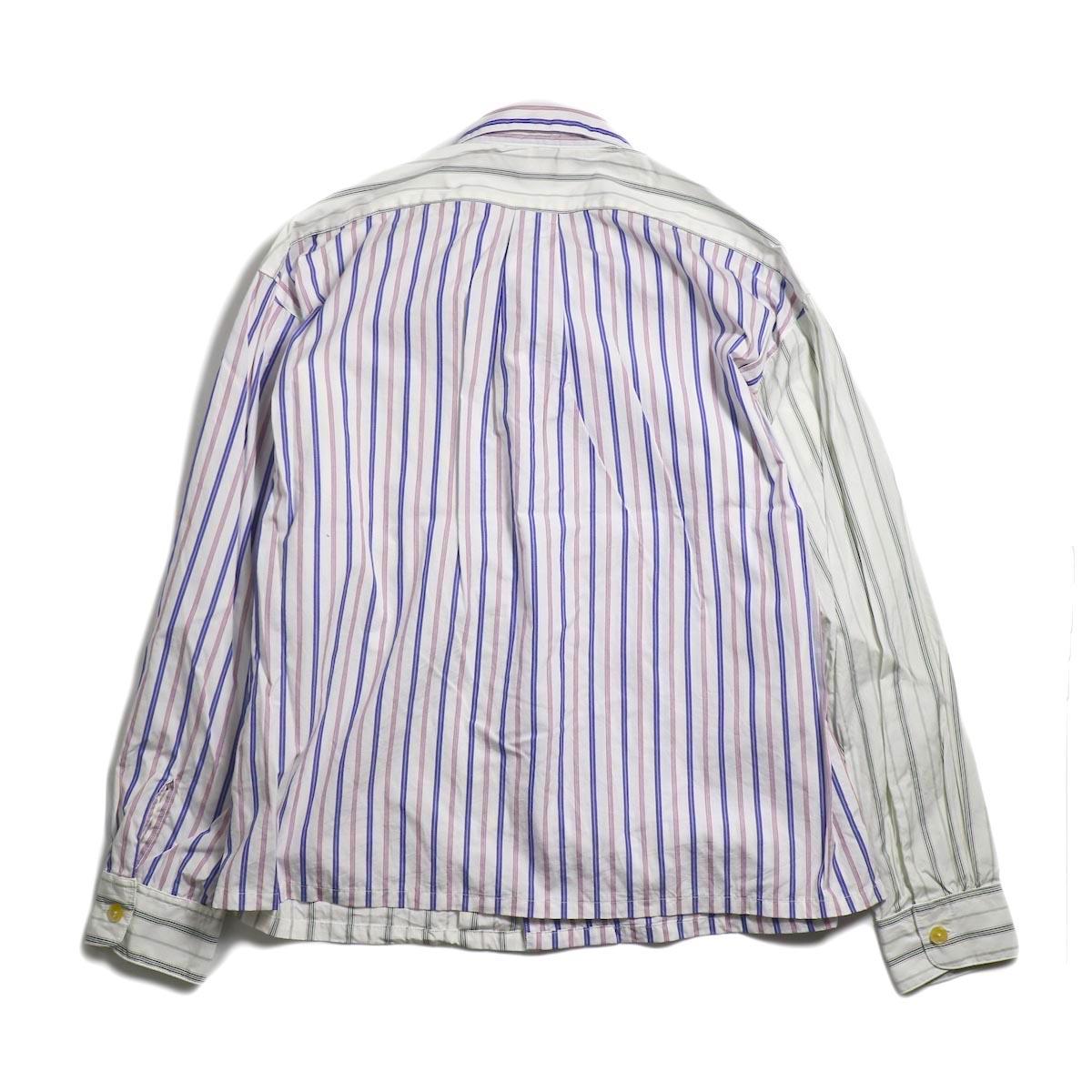 AiE / PJ Shirt -Regent St. (Red/Blu/Wht) 背面