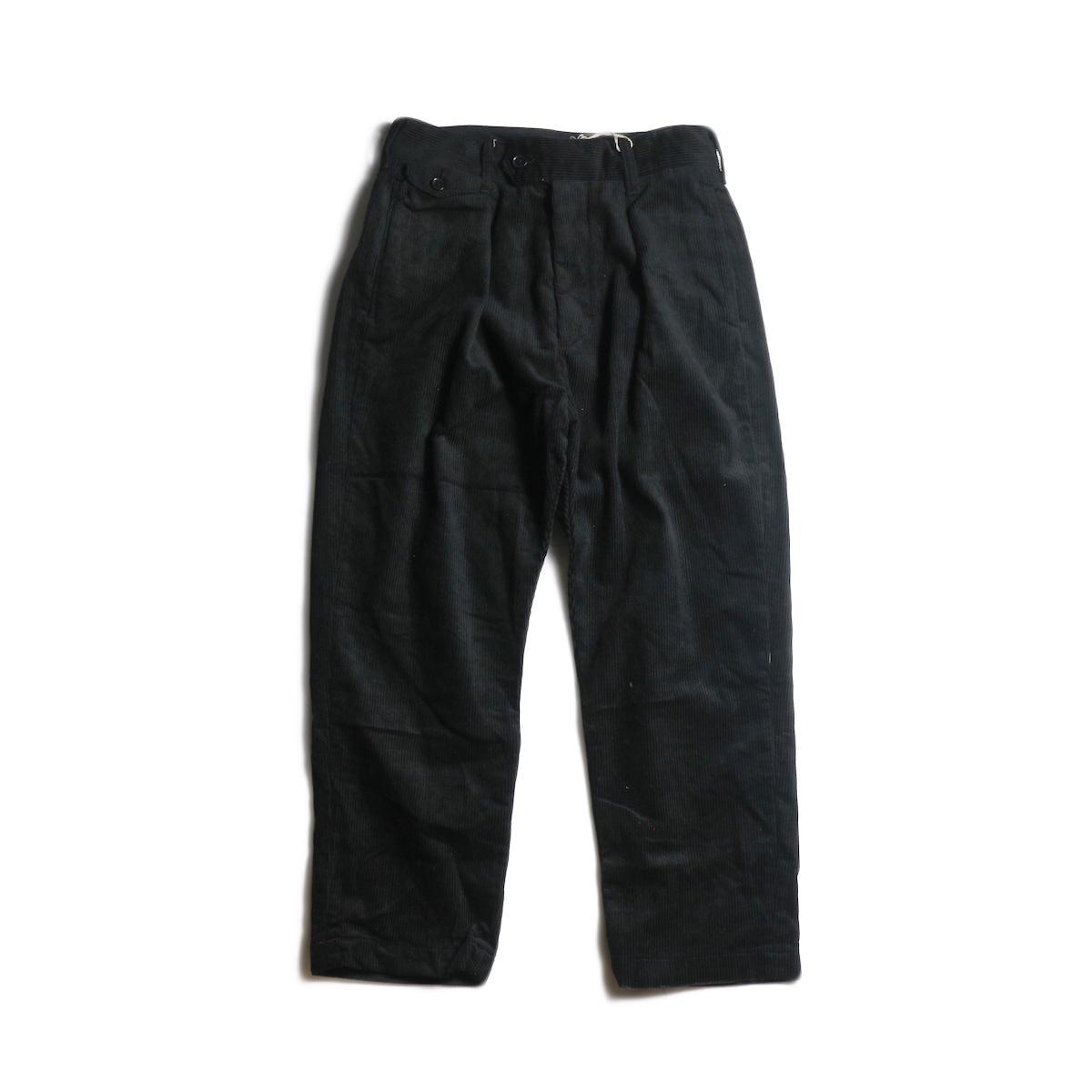 AiE / PLJ Pant -8W Corduroy (Black)