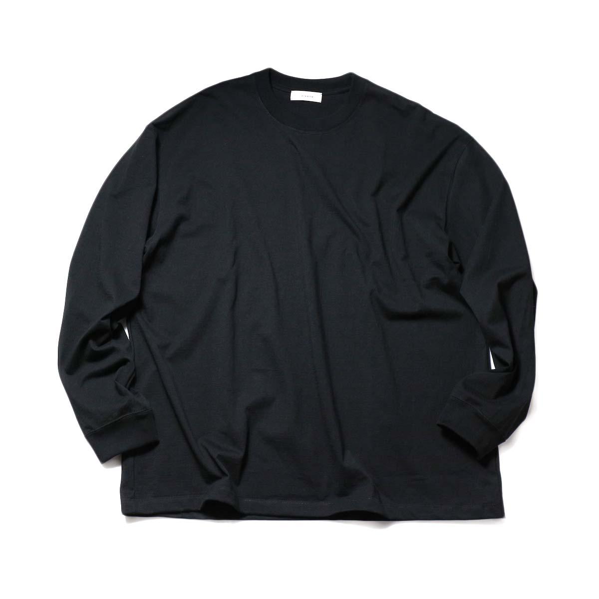 alvana / TANGUIS L/S TEE SHIRTS (Black)